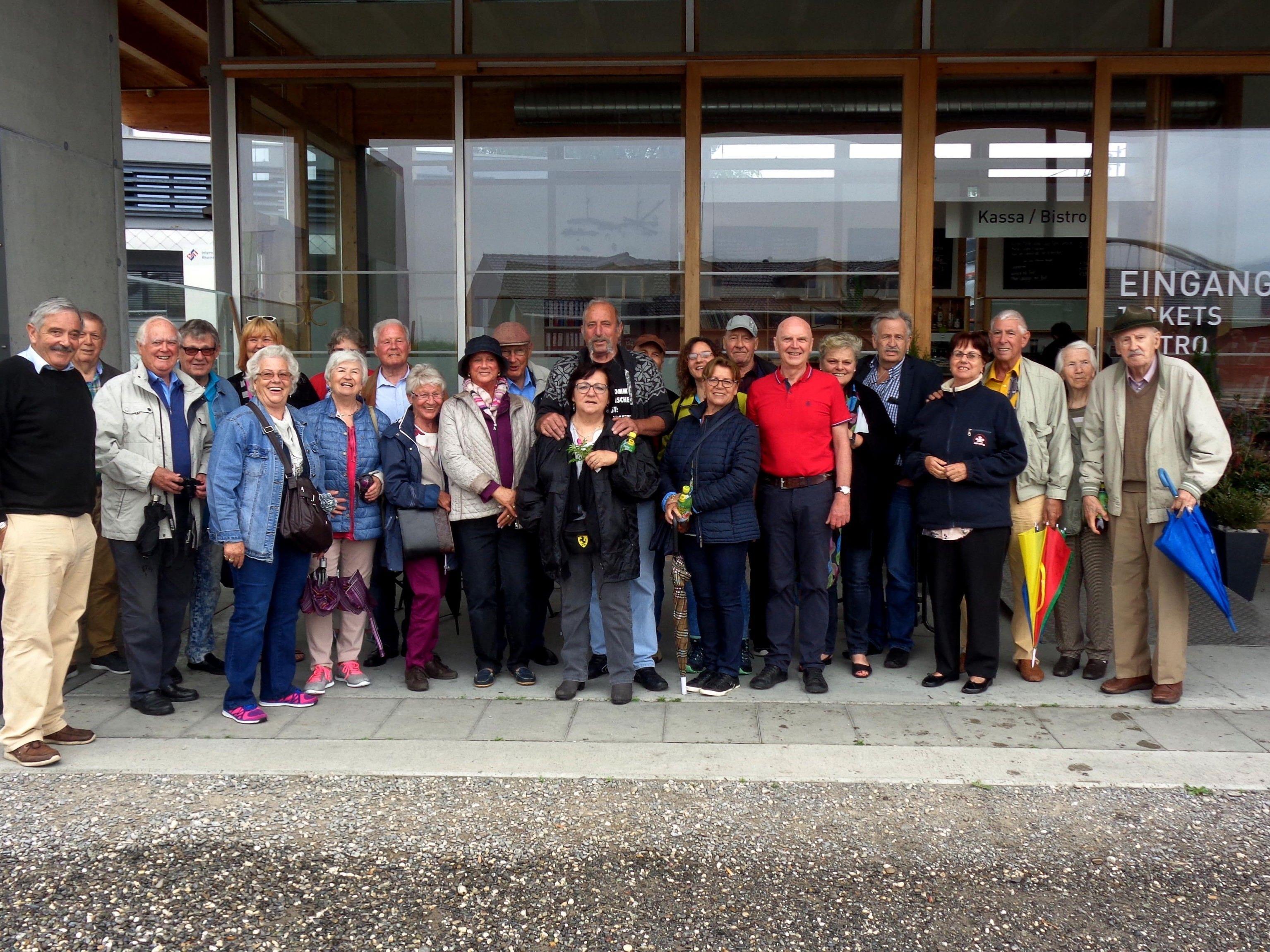 Seniorinnen und Senioren der Ortsgruppe Bregenz/Leiblachtal