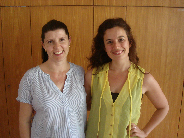 Chorleiterin Nina Prantner und Stimmbildnerin Maria Romero Ponsati