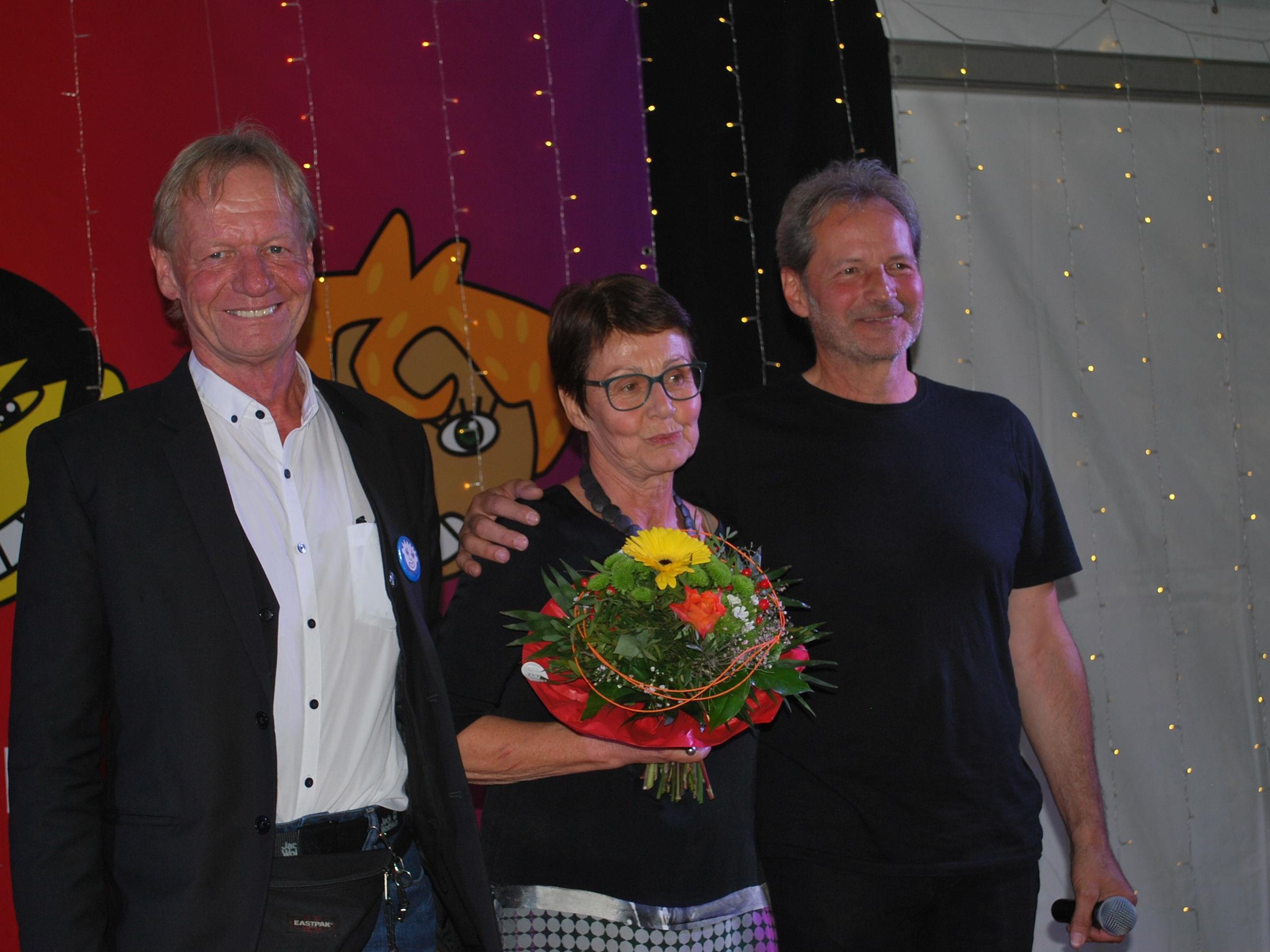 Im Vorstand der OJAD: Martin Hagen, Beate Hartmann, Kurt Nachbaur (vl)
