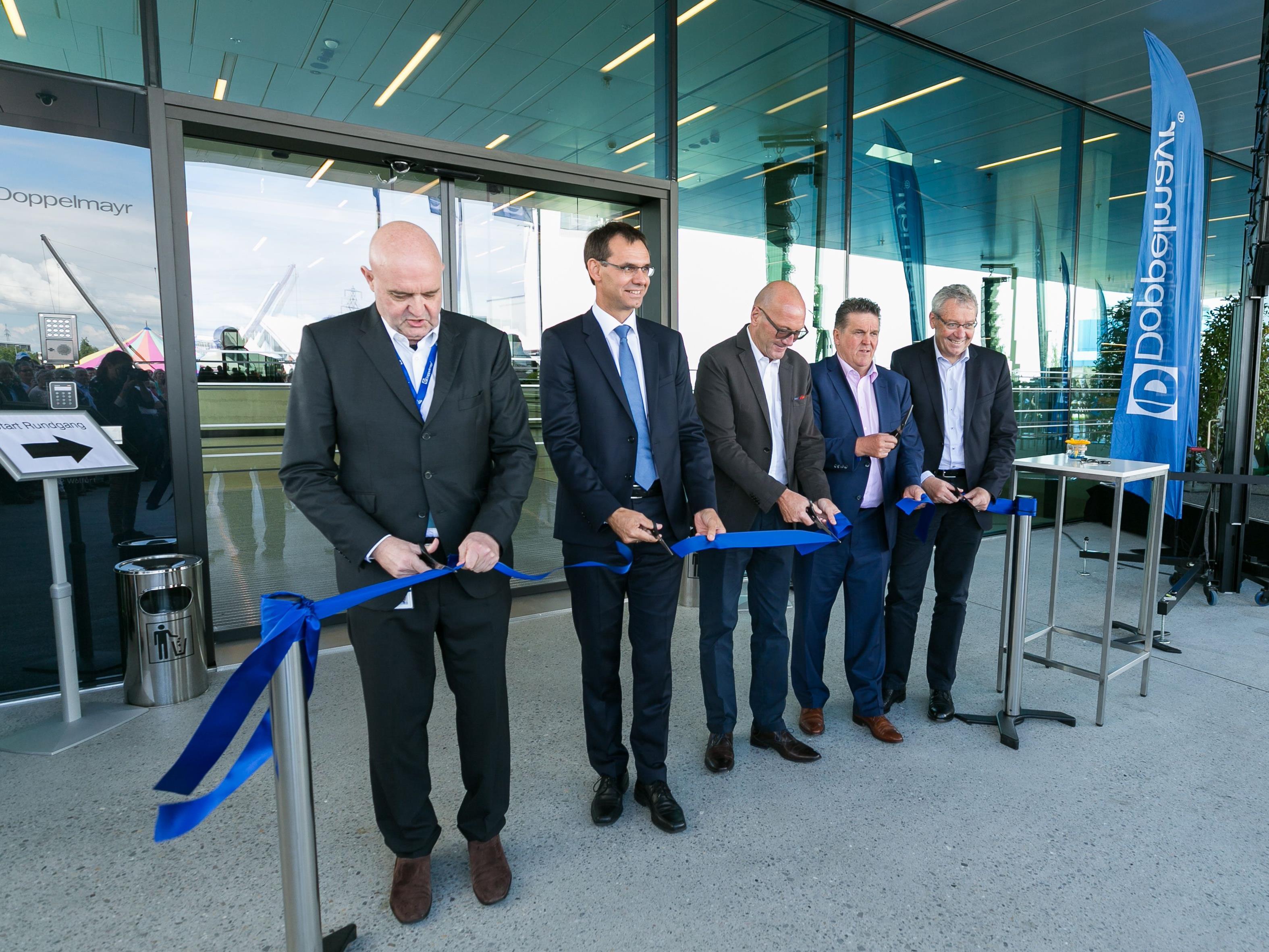 Doppelmayr eröffnet neues Bürogebäude