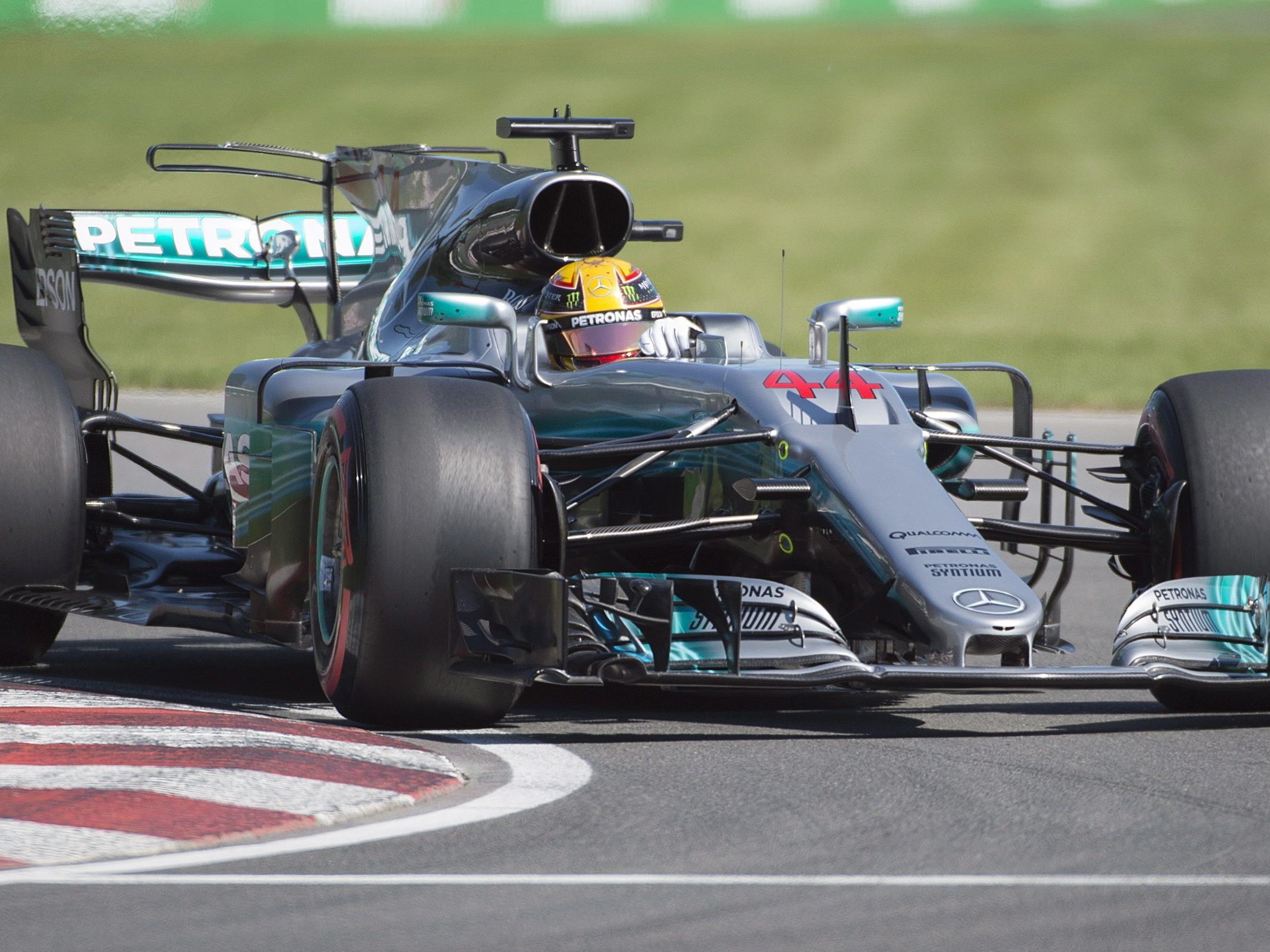 Lewis Hamilton startet in Kanada von der Pole Position.