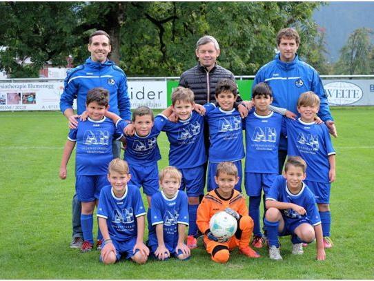 Der FC Nenzing ist auch im Nachwuchsbereich stark.