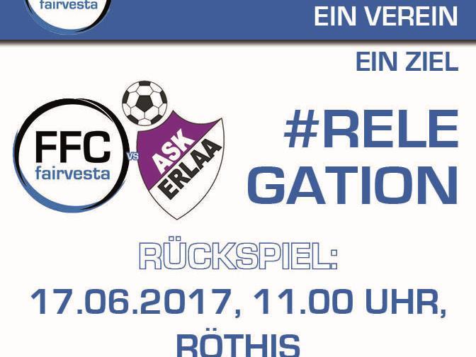 Match um Aufstieg in die 1. Bundesliga
