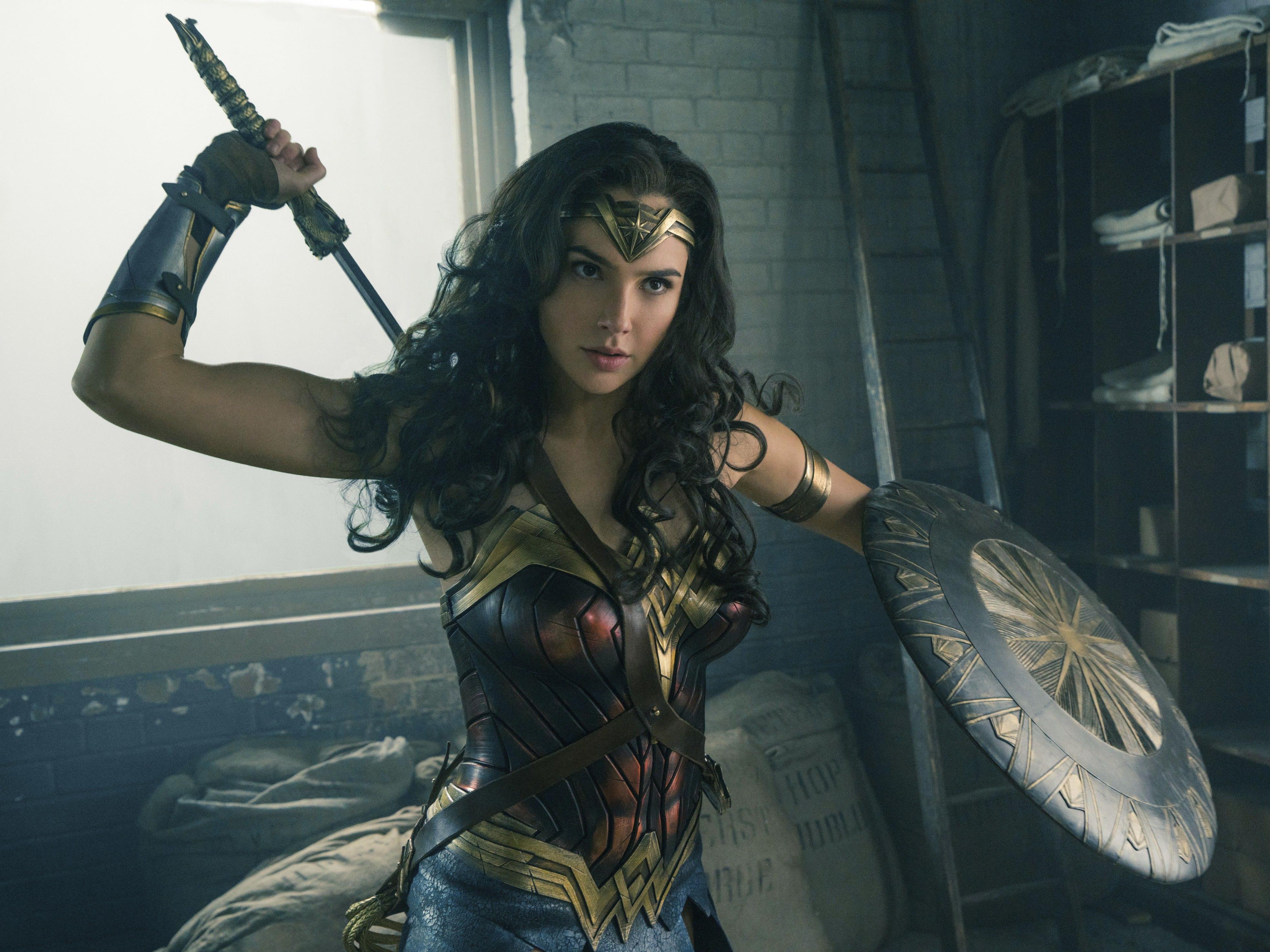 """""""Wonder Woman"""" erobert die heimischen Kinos."""