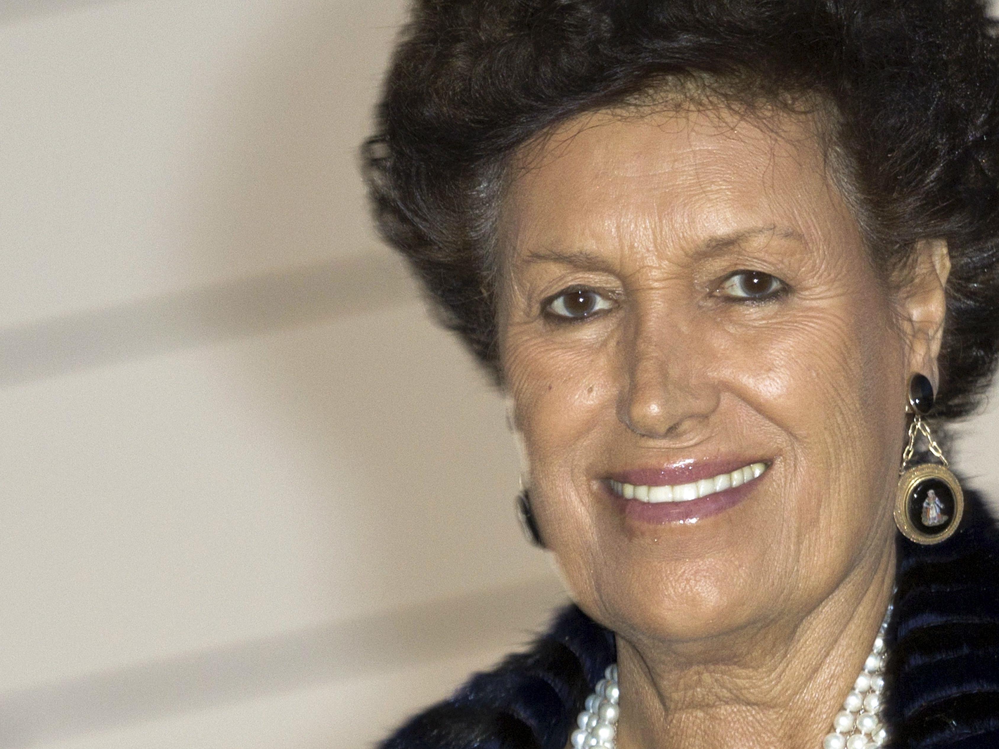 Carla Fendi verstarb am Montag im Alter von 79 Jahren.