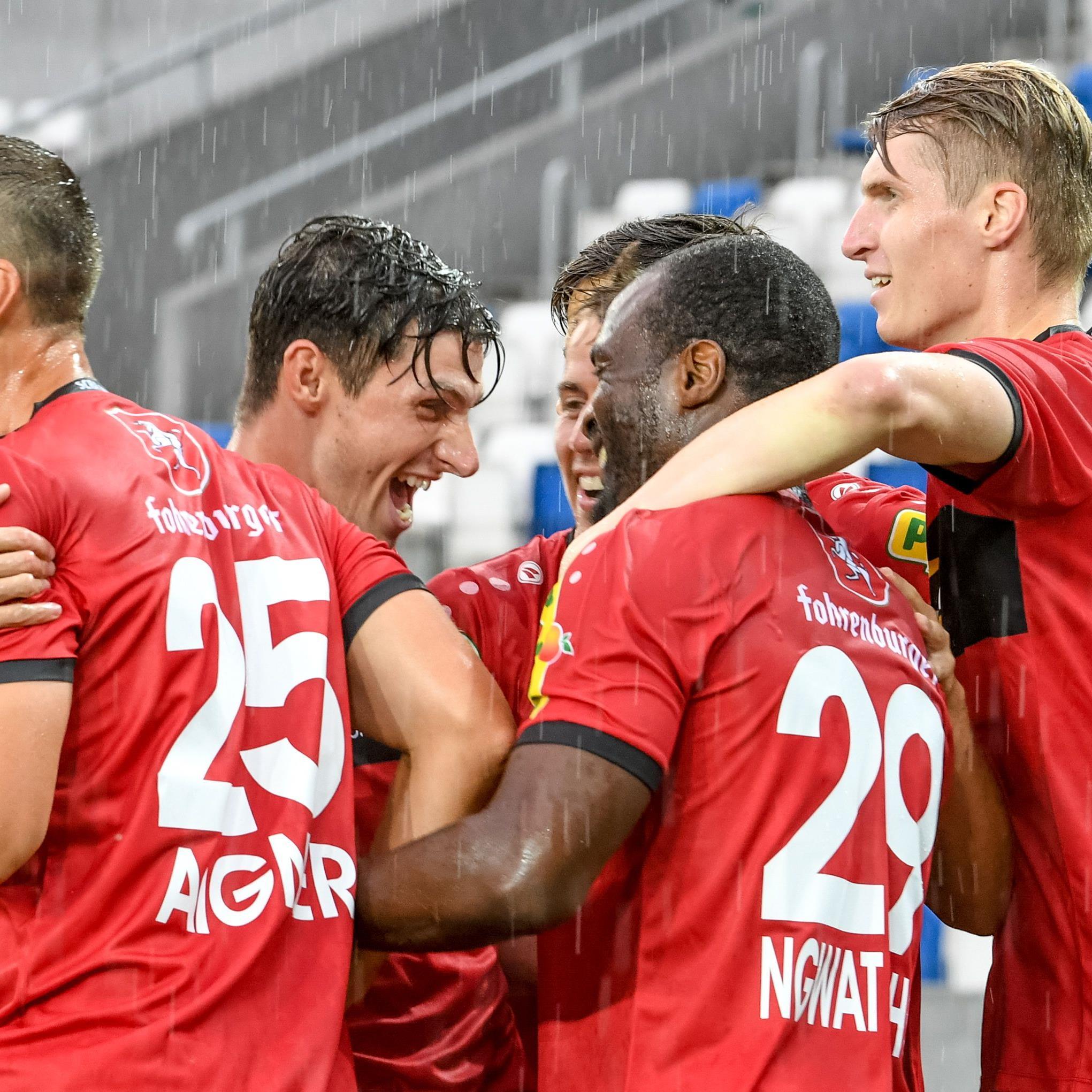 Altach durfte heute erstmals in der neuen Saison jubeln.