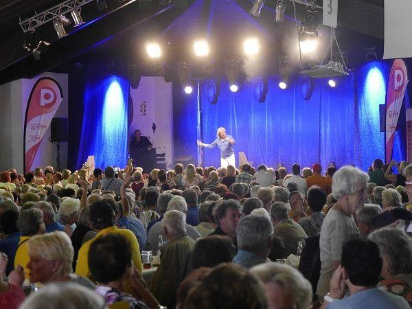 1.200 PVÖ-Mitglieder feierten Hansi Hinterseer