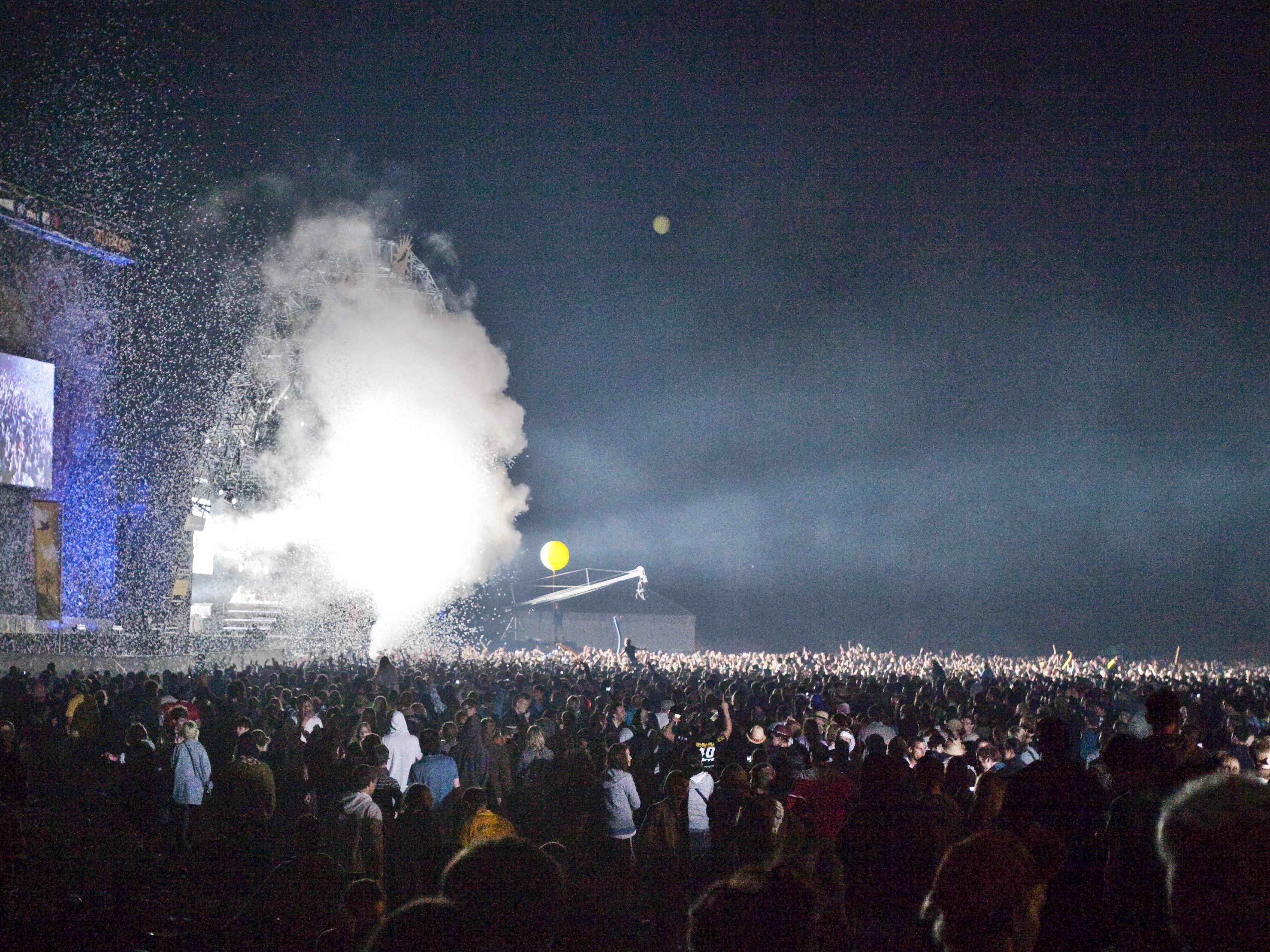 Tausende Fans beim St. Gallen Openair.