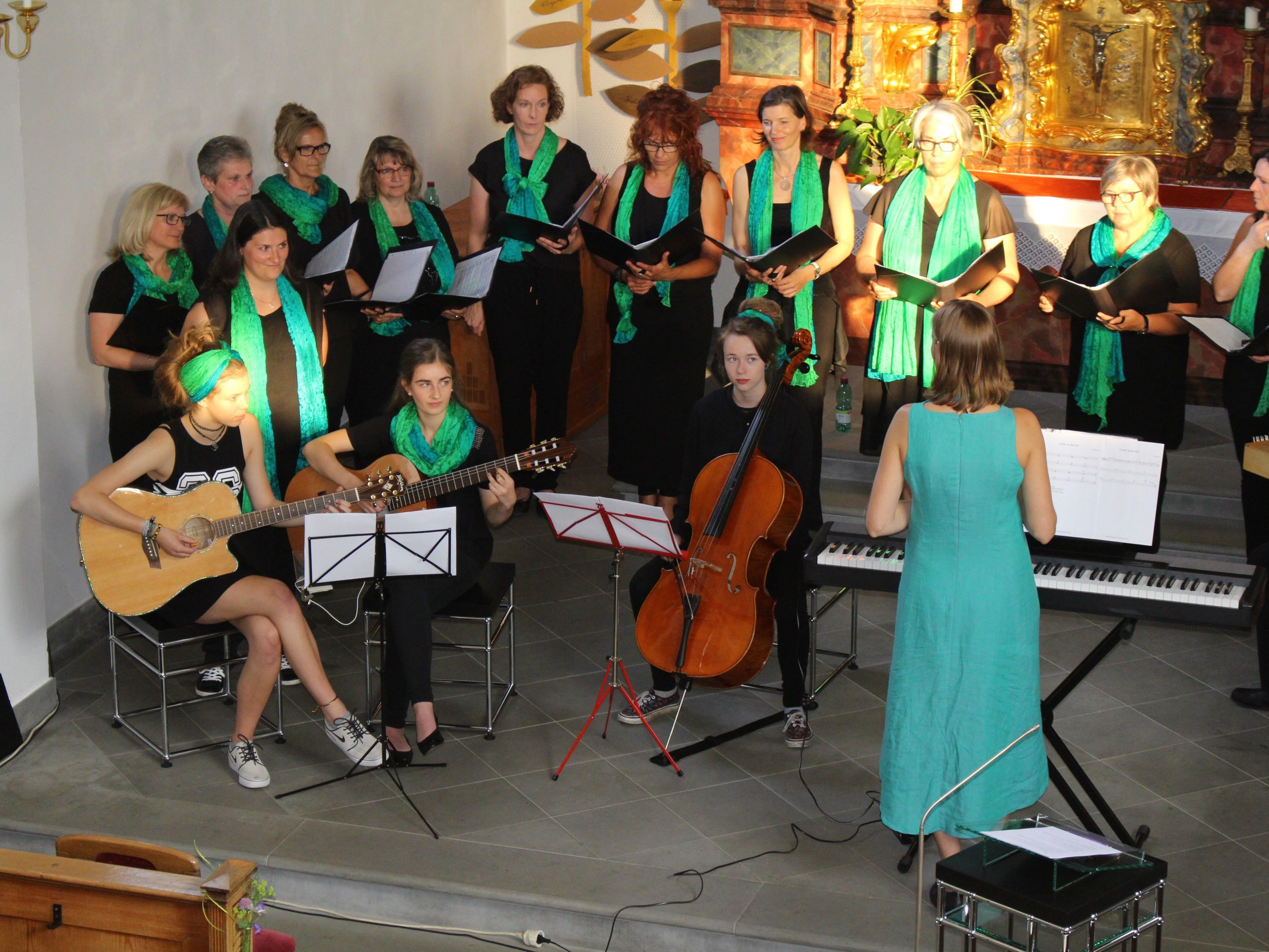 Mit SingKlang Amerlügen bereichert ein neuer Chor die Marktgemeinde.