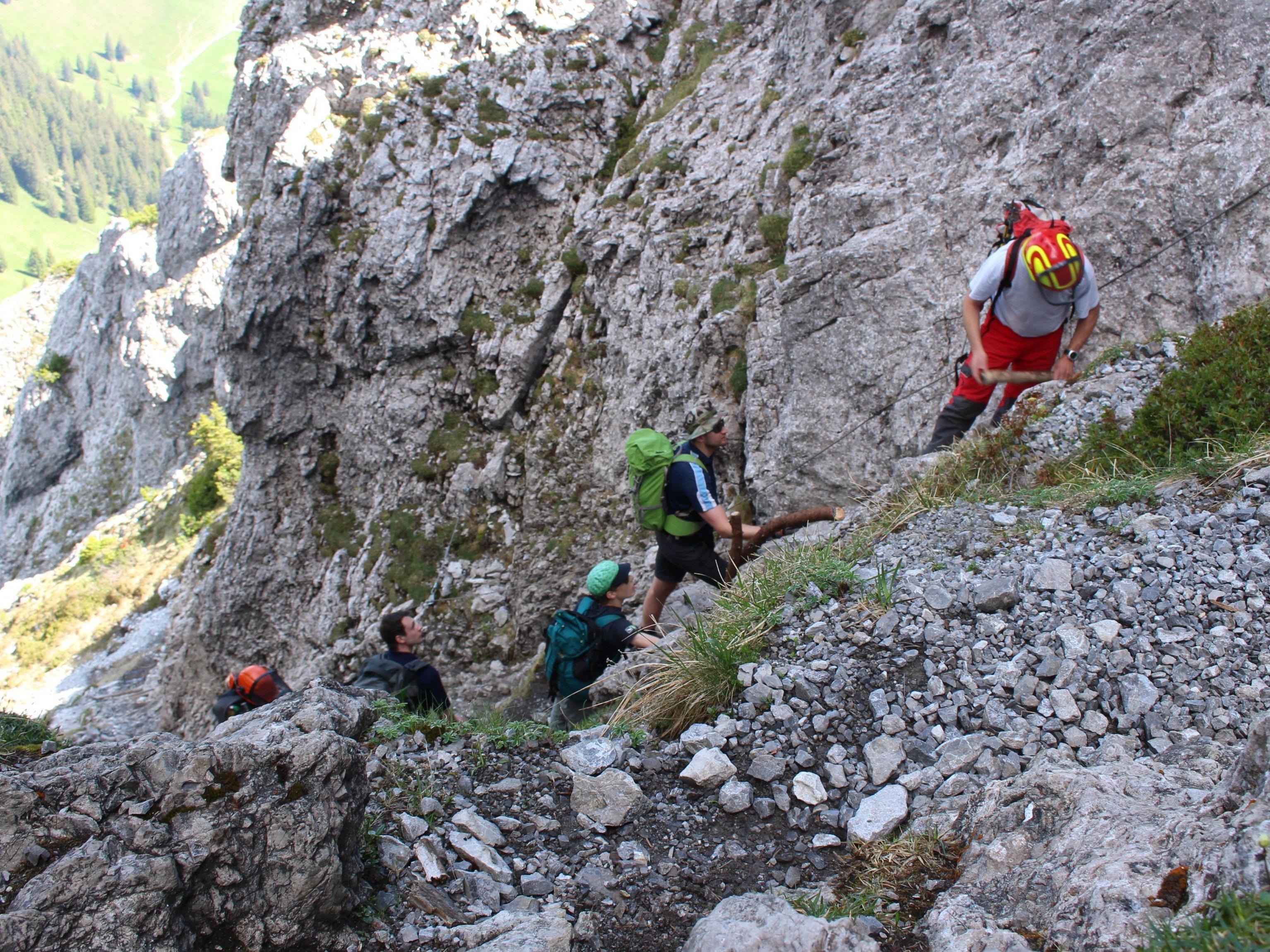 Drei-Schwestern-Steig dank Alpenverein für die Sommersaison gerüstet.