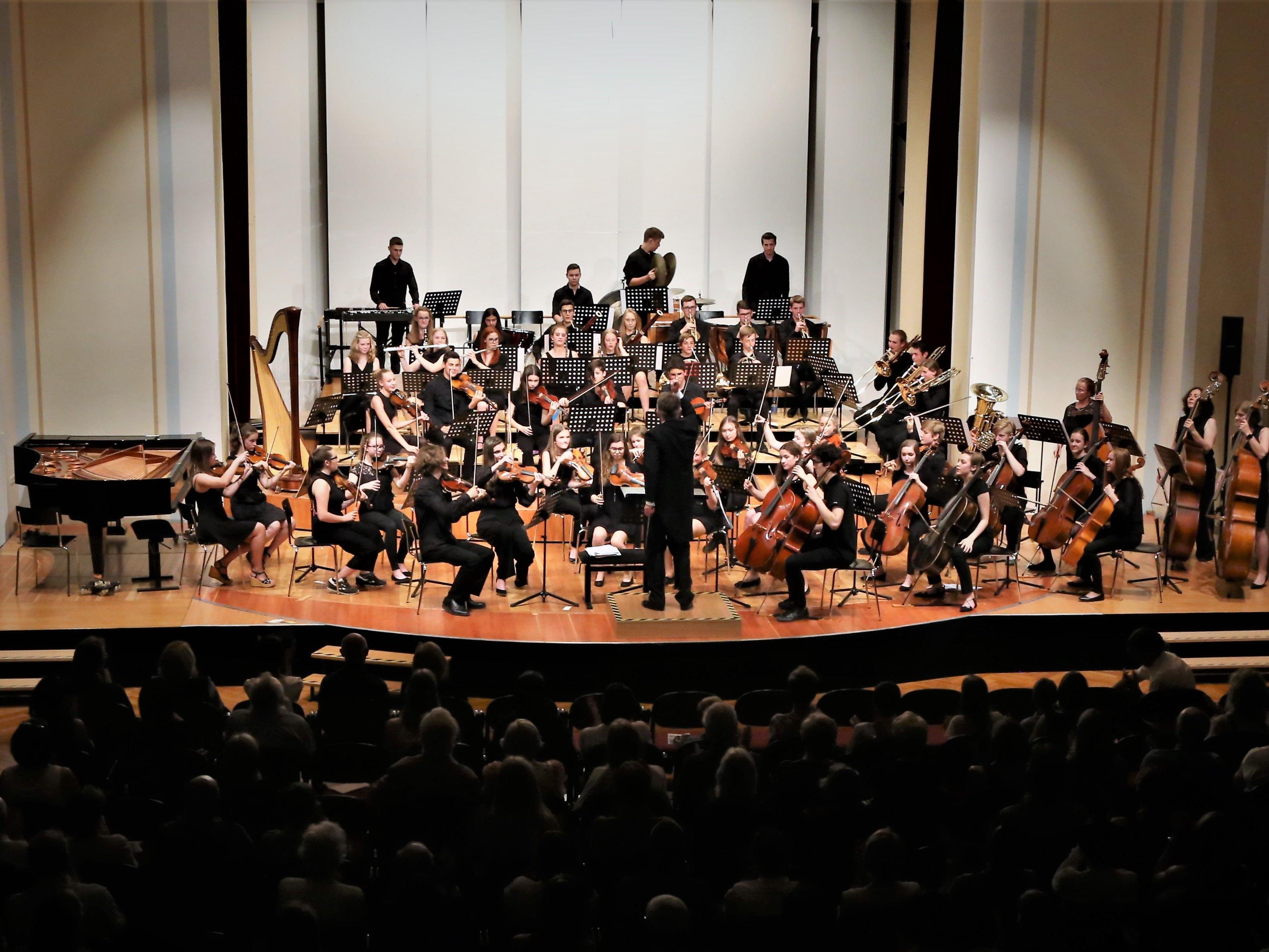 """""""Standing Ovations"""" bei der Premiere von """"Ill Concerto"""" im Landeskonservatorium Feldkirch."""