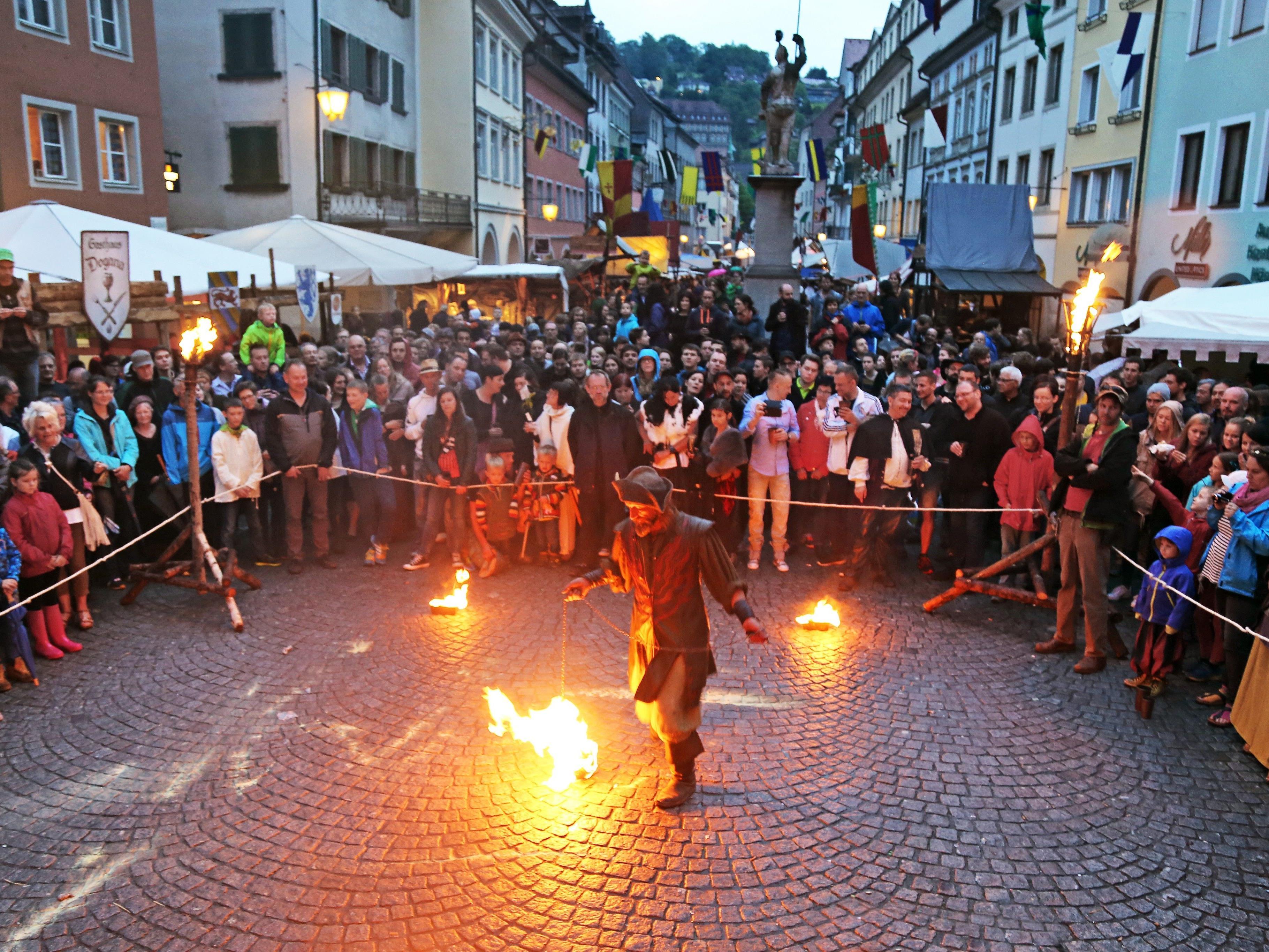 Das Montfortspektakel wird in die 800-Jahr-Feier der Stadt Feldkirch eingebunden sein.