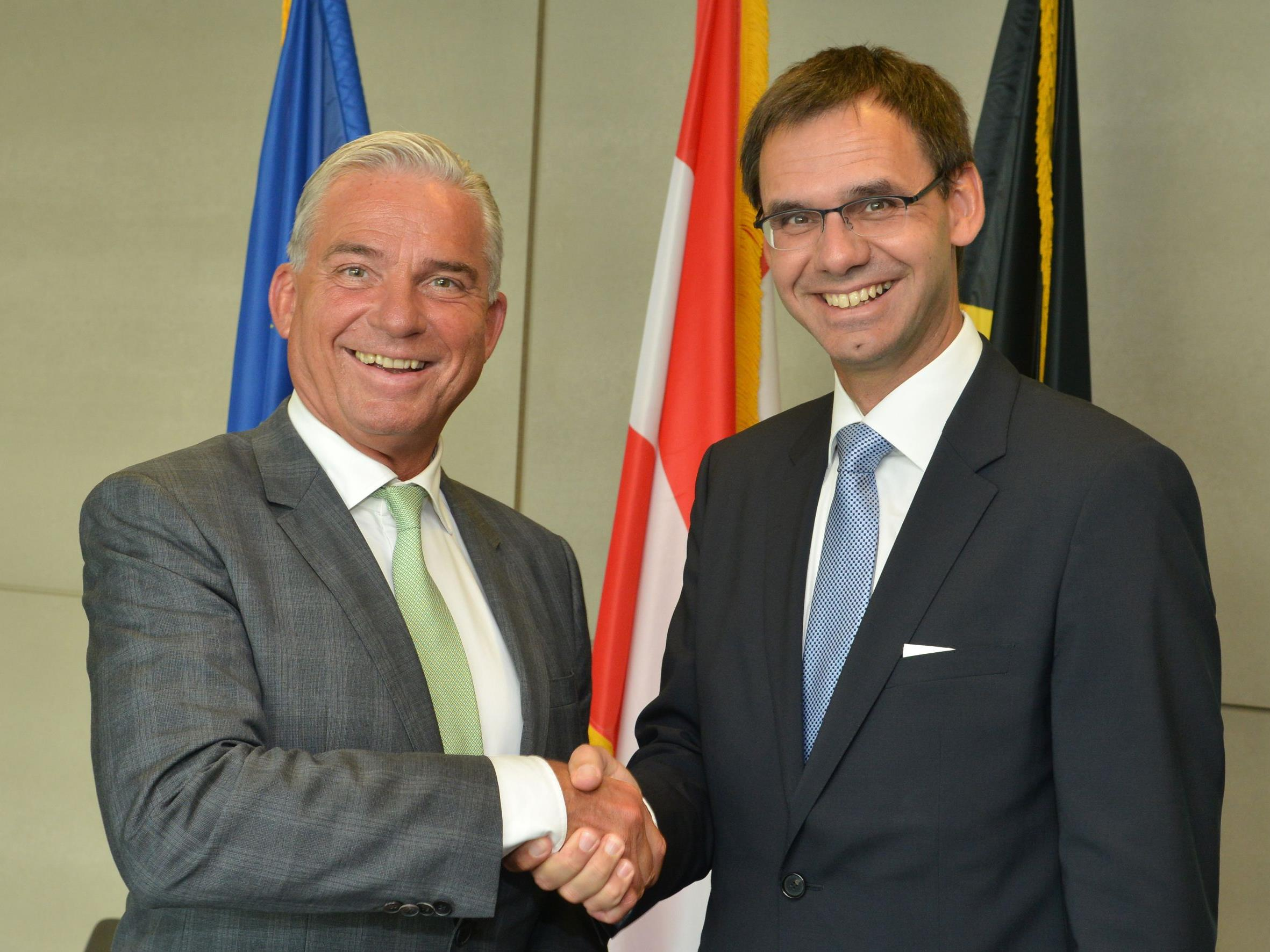 Wallner traf sich Mittwochabend mit Strobl in Stuttgart.
