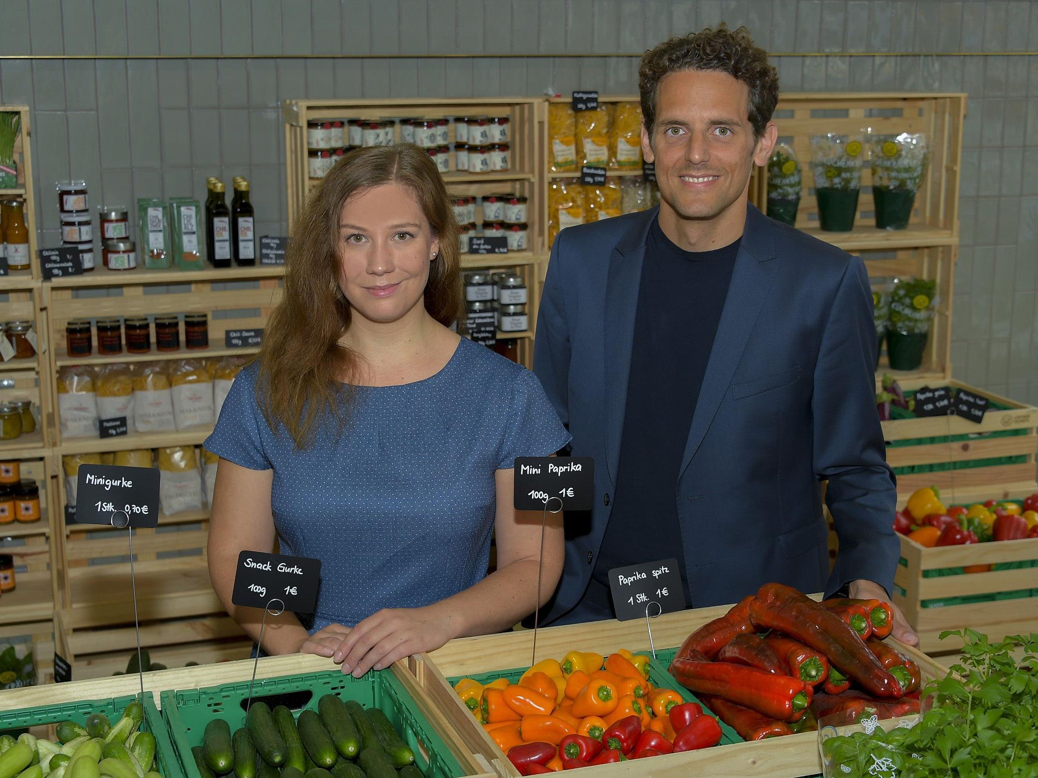 LGV-Frischgemüse eröffnet in Wien.