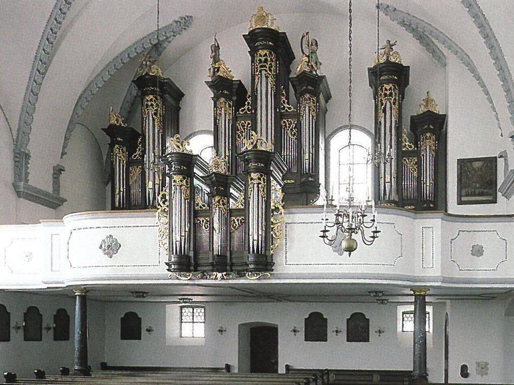 Orgel in der Basilika Rankweil