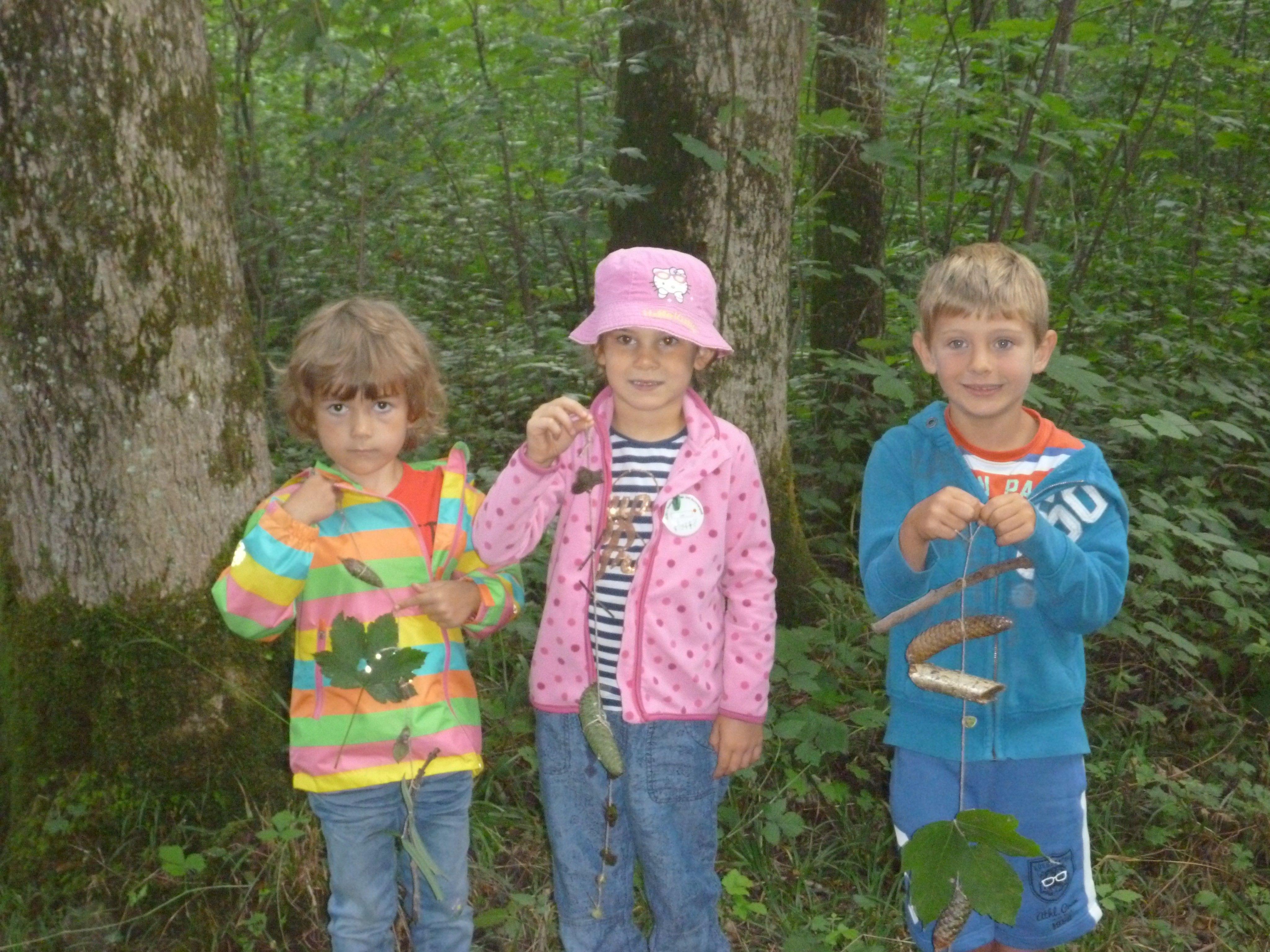 Spaß und Spannung sind beim Sommerfitnessprogramm in der Natur mit den ELKI´s garantiert.