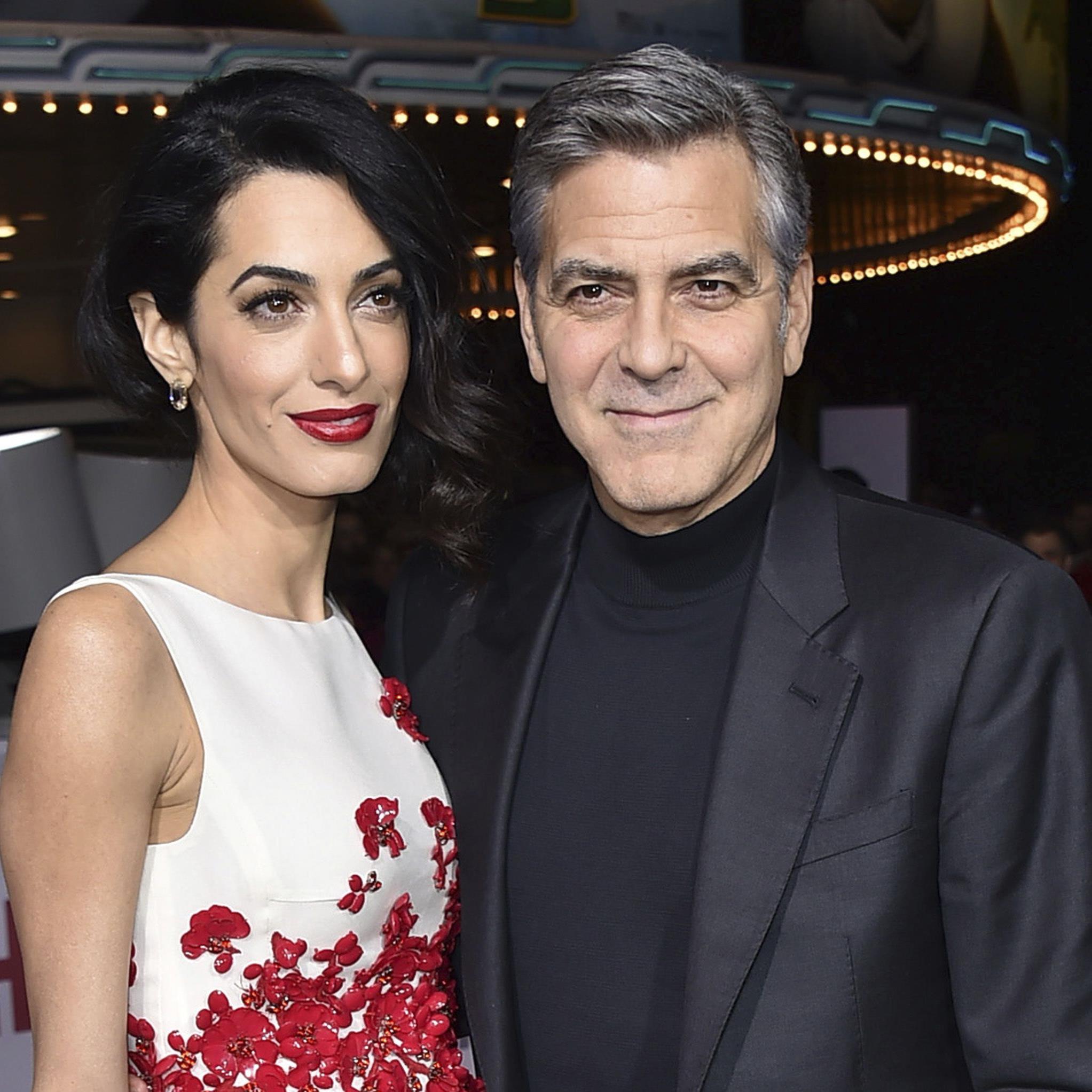 Amal und George Clooney sind seit heute Eltern von Zwilligen.