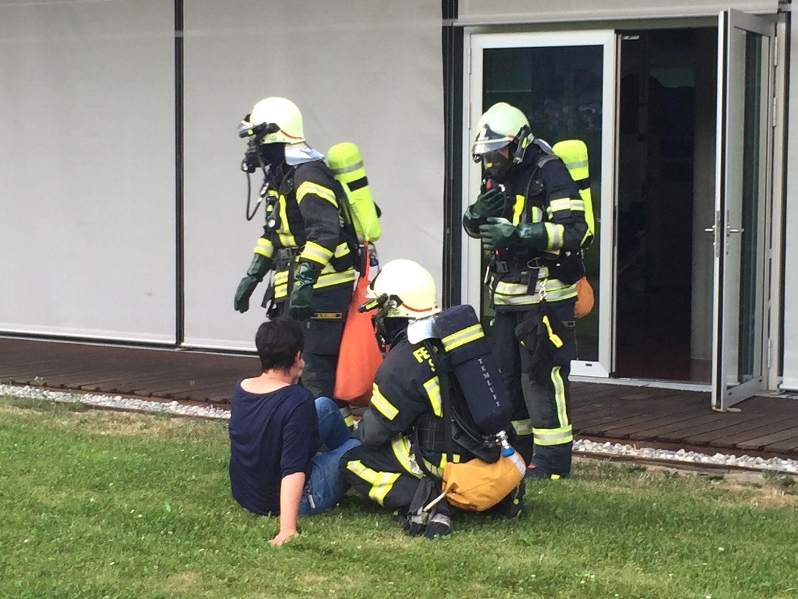 Feuerwehrübung in Schruns