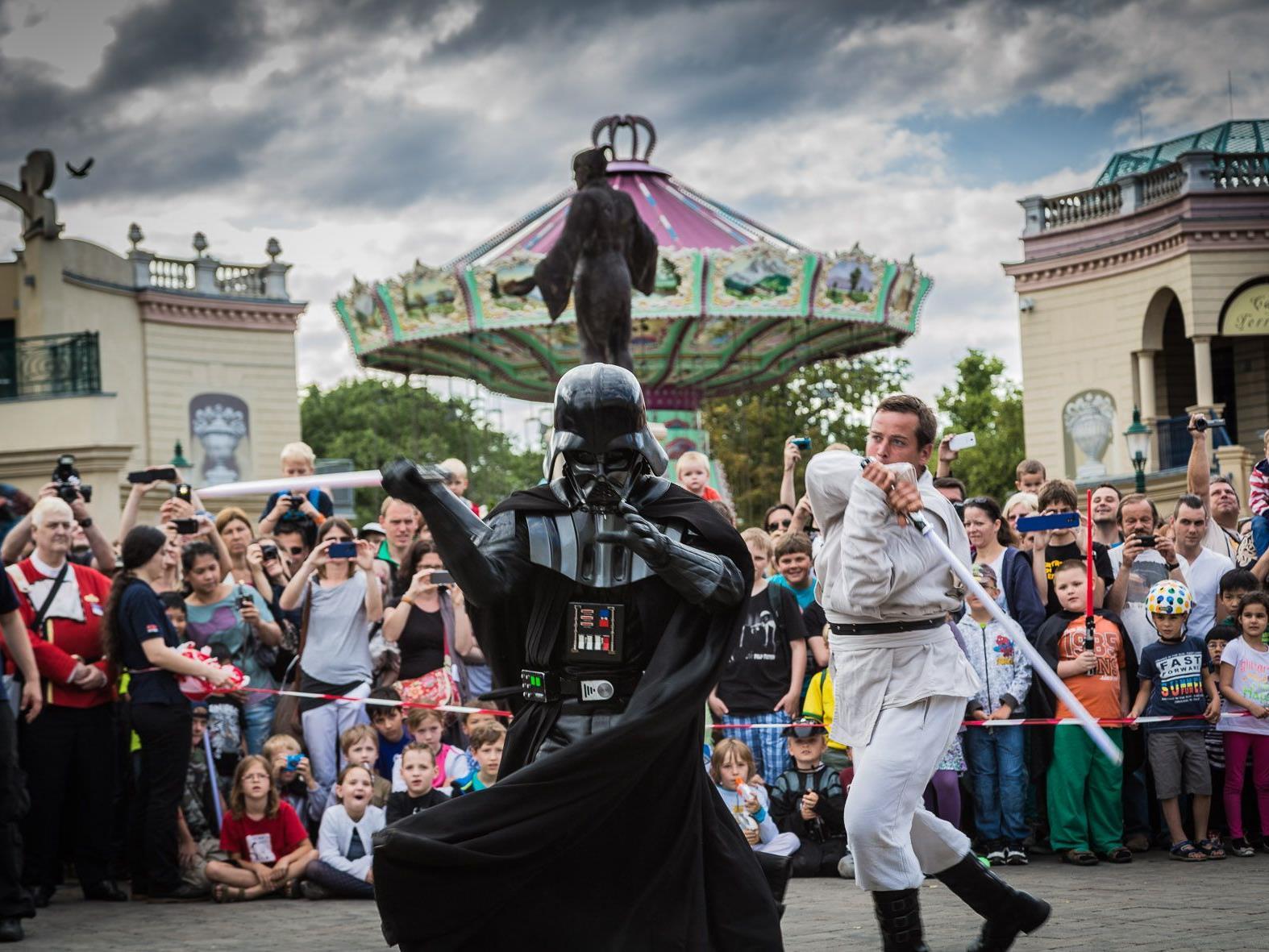 Sith gegen Jedi im Prater beim Sci-Fi Day 2017