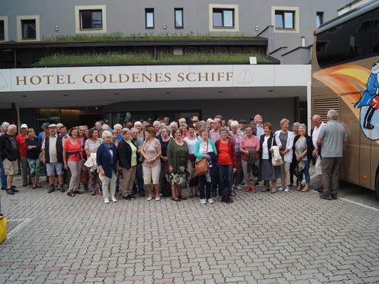 Seniorenausflug Großes Walsertal 2017.