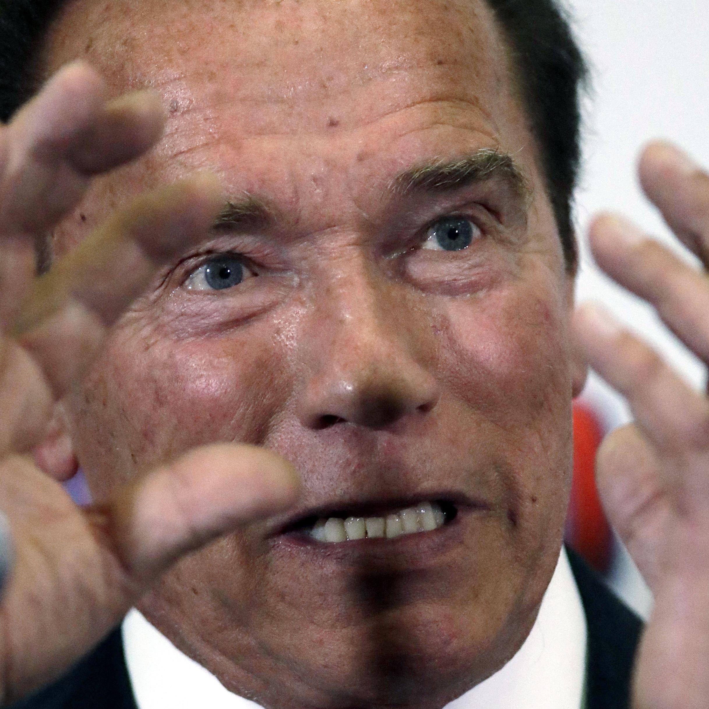 Arnie ist kein Trump-Fan