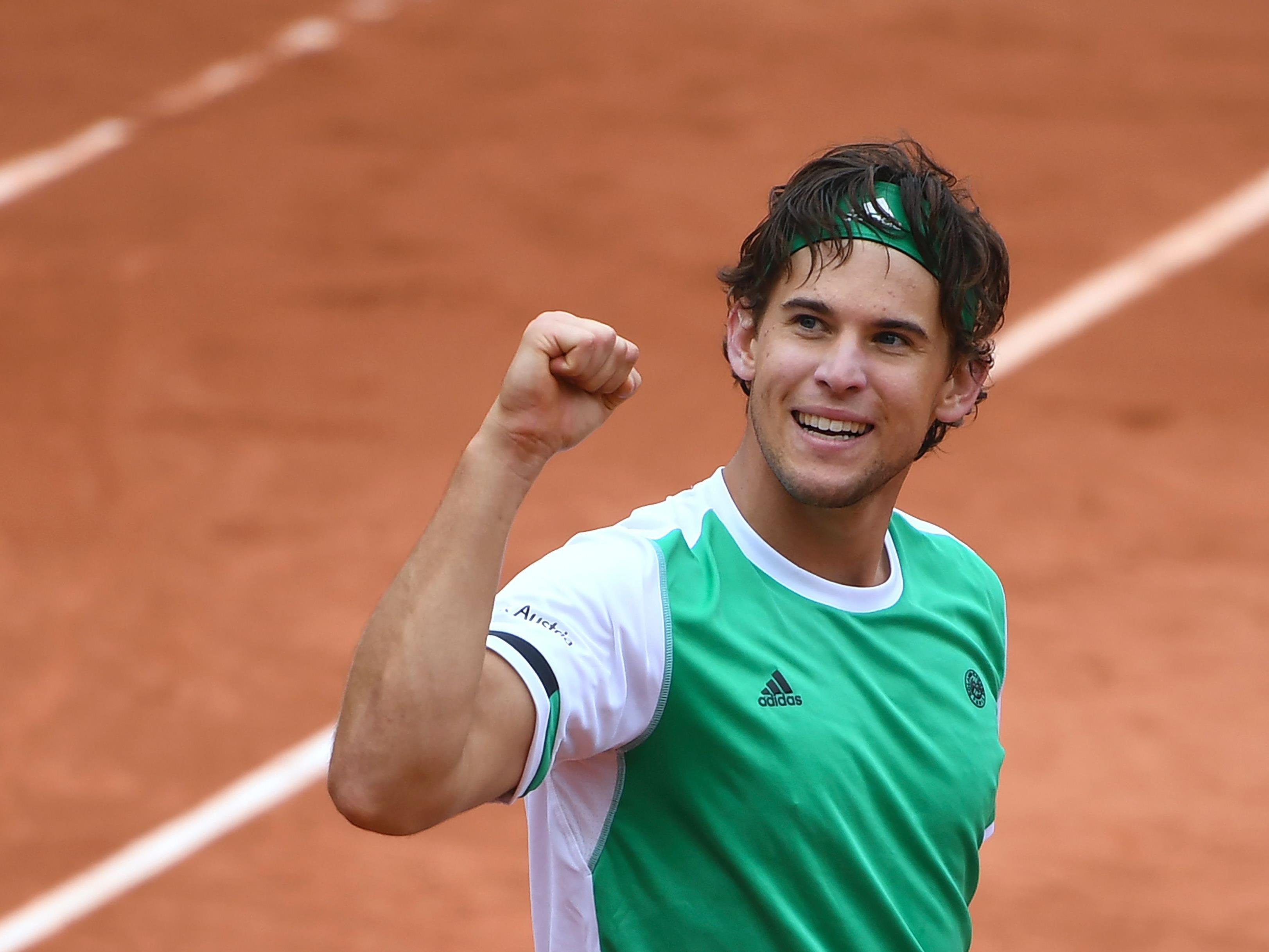 Dominic Thiem ist vor dem Halbfinale der French Open gegen Rafael Nadal optimistisch.