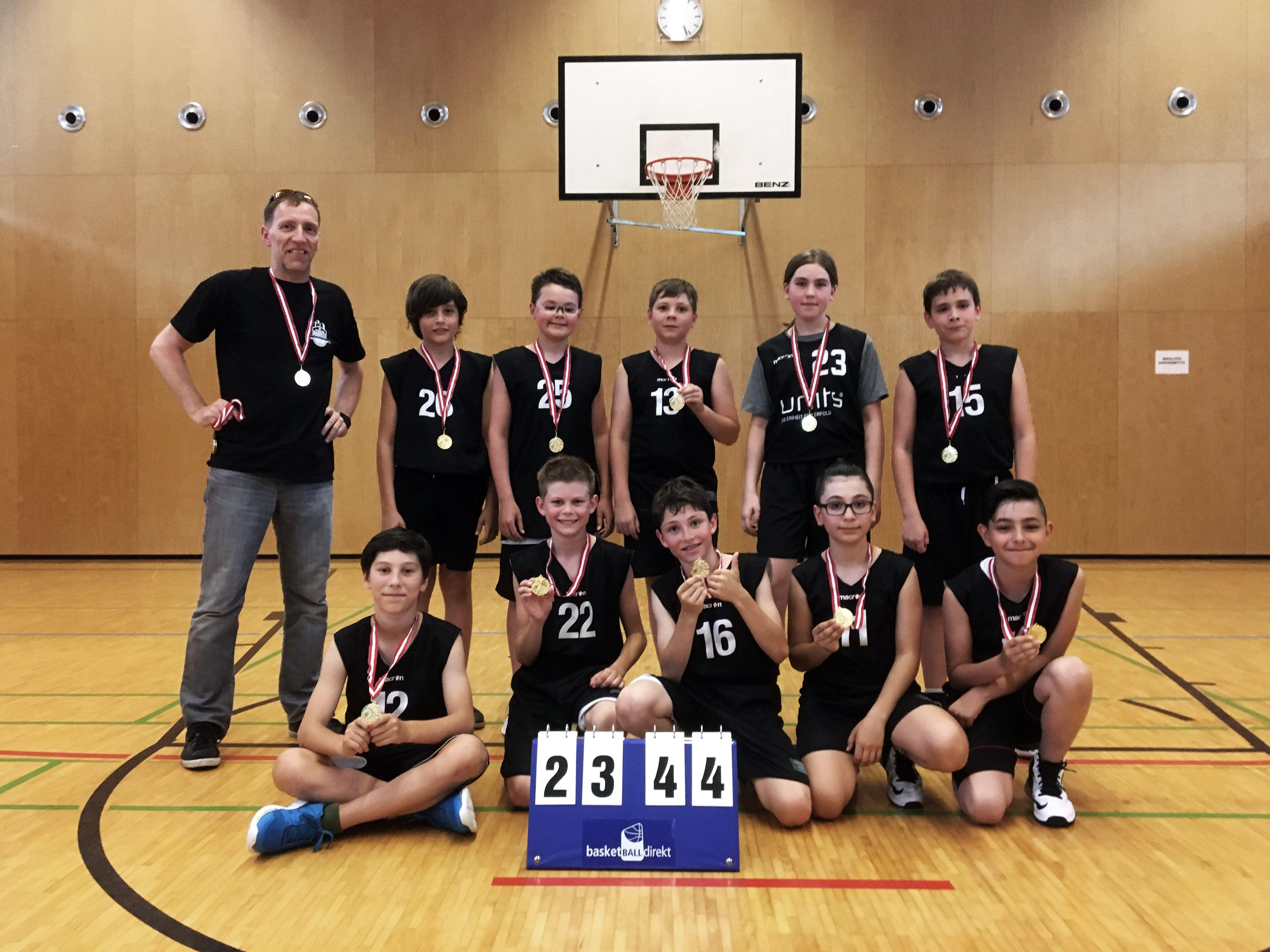 Eisenstein Baskets Feldkirch: Vorarlberger U12-Meister 2017