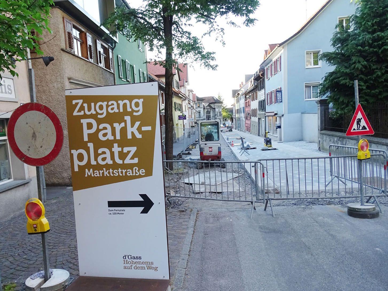 Im Emser Zentrum gibt es wie hier auf dem Parkplatz Marktstraße viele Gratis-Parkmöglichkeiten.