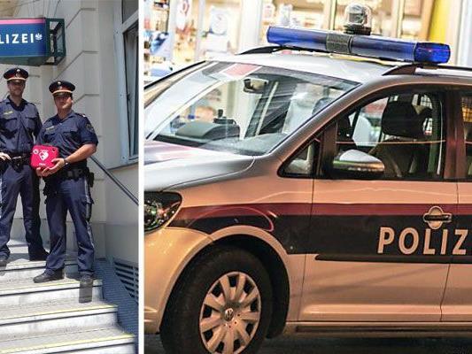 Polizisten reanimierten einen Mann in Wien