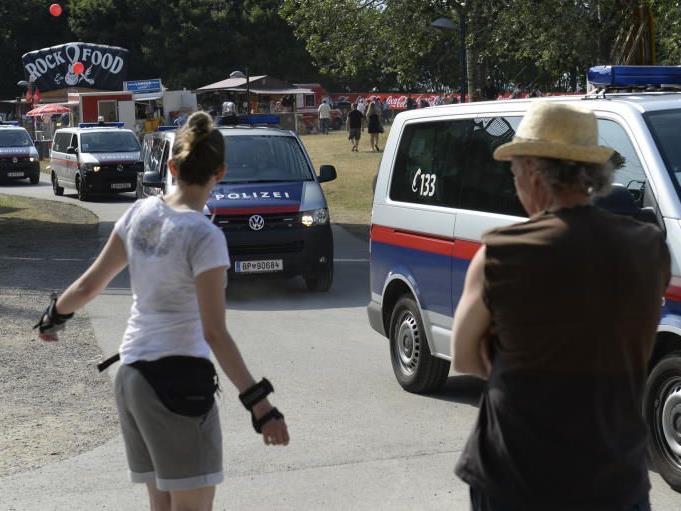 Auch heuer sind viele Polizisten am DIF vor Ort.