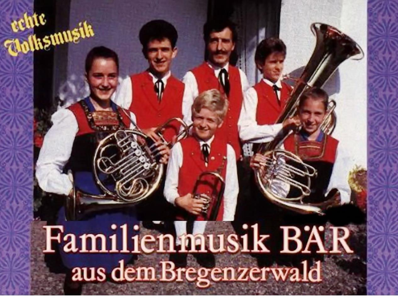 Fanilienmusik Bär