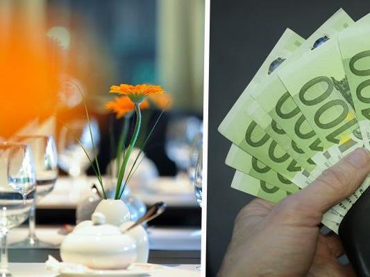 Ein Gastronom betrug den Fiskus um 480.000 Euro an Steuergeldern.