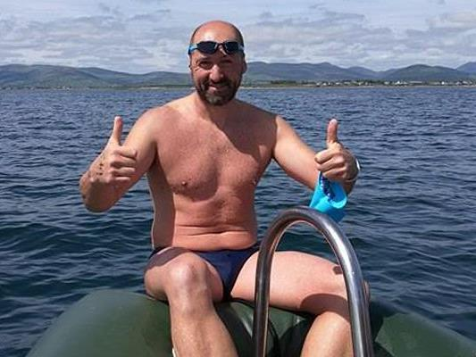 Josef Köberl will im Juli den Nordkanal durchschwimmen.