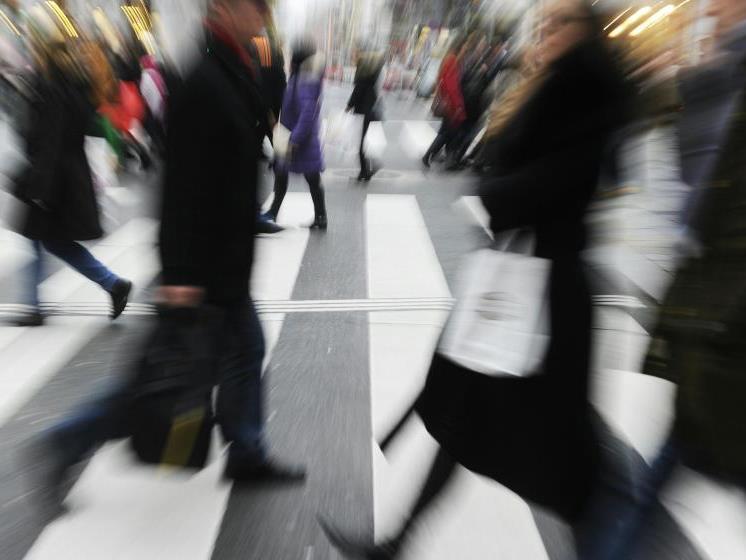 Für Österreich geschätzte Kaufkraft von 22.597 Euro pro Kopf für 2017