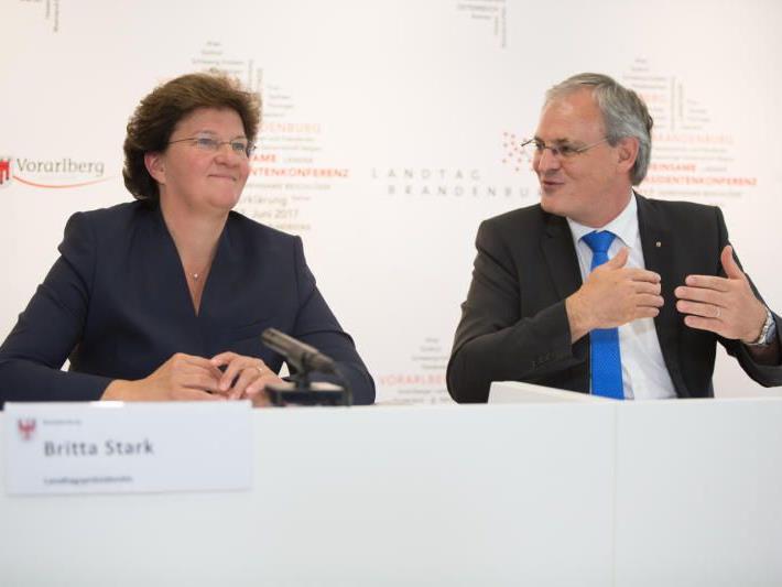 Landtagspräsidenten Österreichs und Deutschlands sehen EU vor großen Herausforderungen stehen