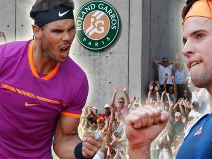 Dominic Thiem trifft im French Open-Halbfinale 2017 auf Rafael Nadal.