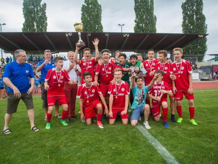 FC Dornbirn U-14 ist Landesmeister