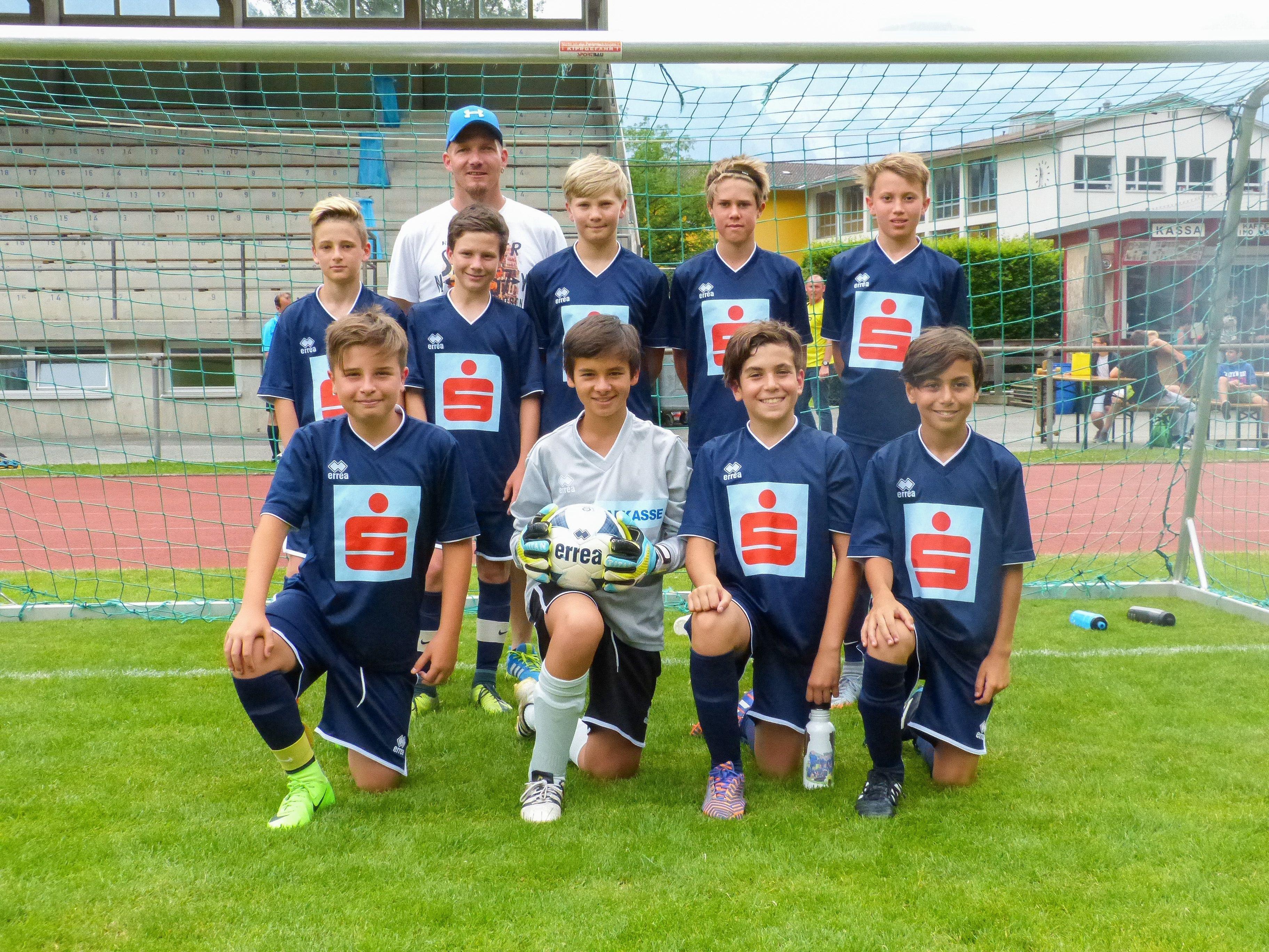 Das erfolgreiche Futsal Team der VMS Altach