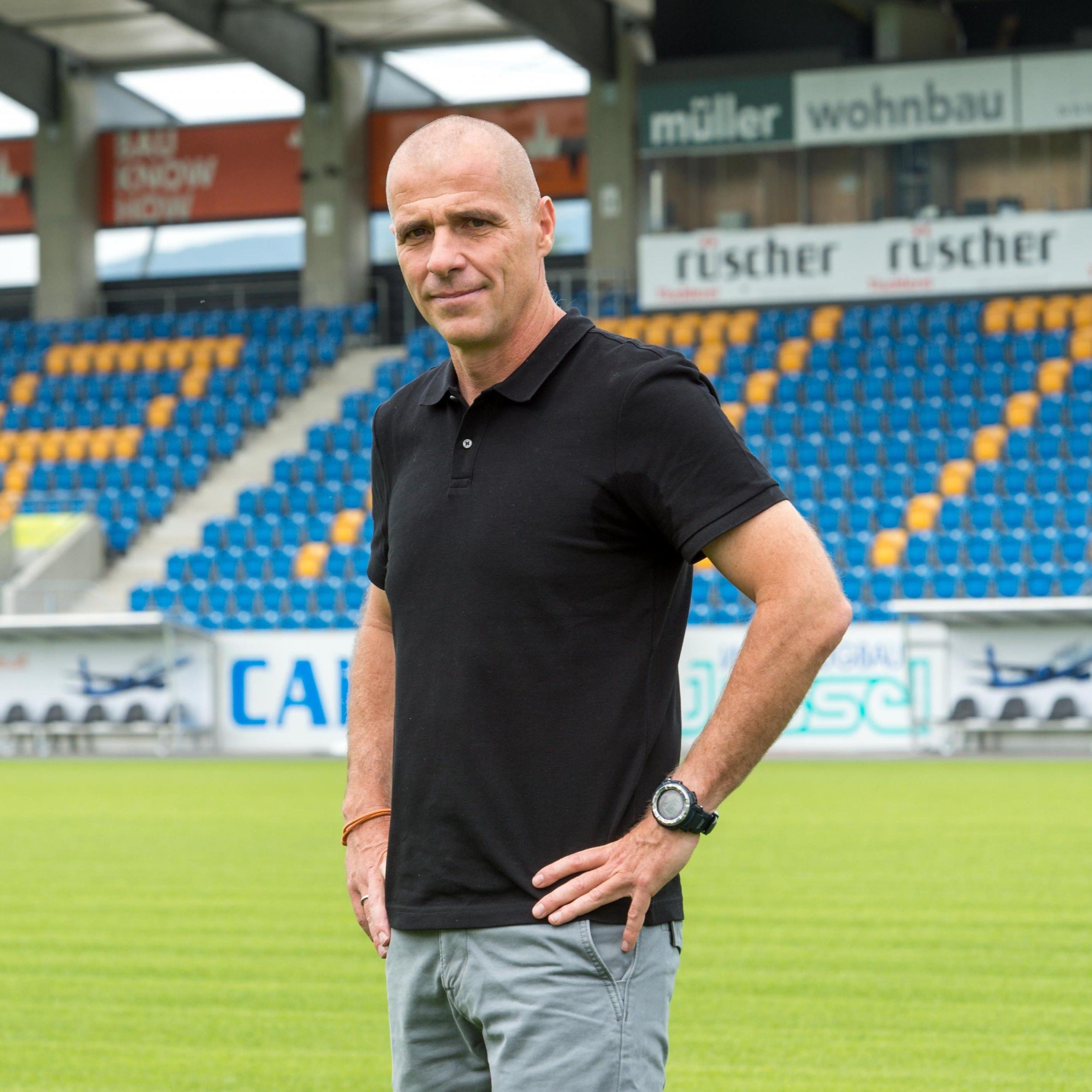 Der neue Altach-Trainer Klaus Schmidt.