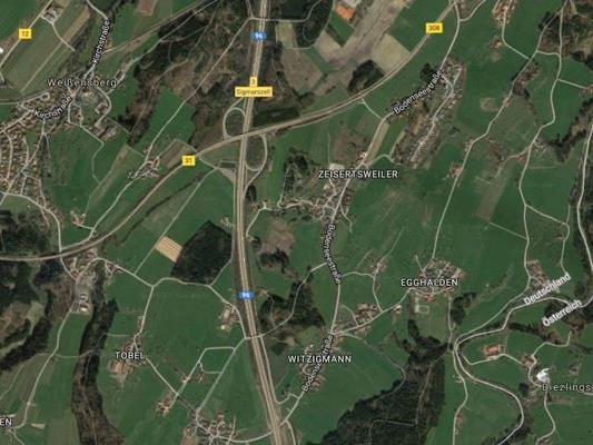 Die Gemeinde Weißensberg liegt nur unweit der Grenze zu Vorarlberg.
