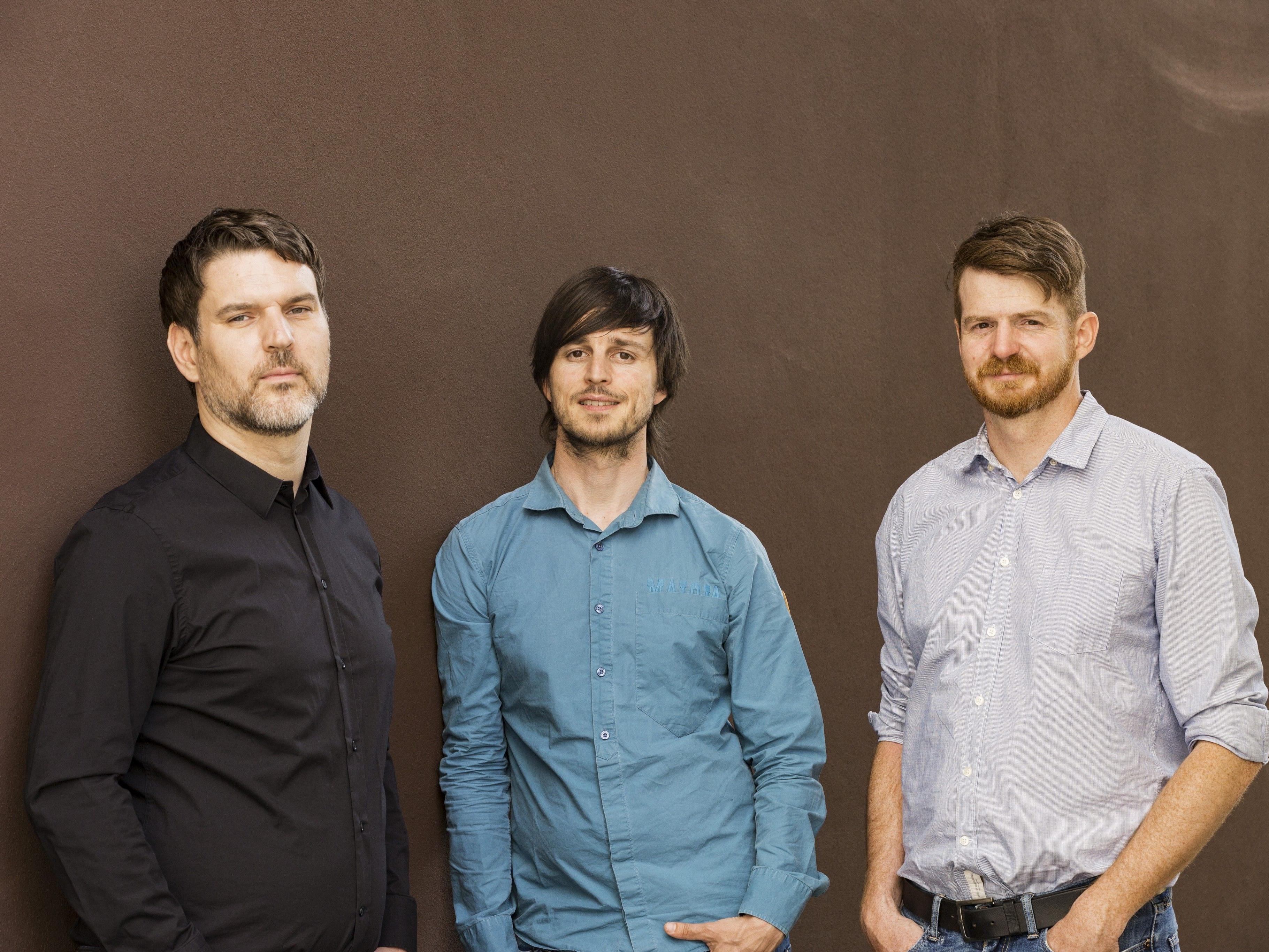 Die Inhaber der jungen Vorarlberger Softwareschmiede Zemtu OG: Philipp Metzler, Dominik Bartenstein und Roland Kainbacher (von links).