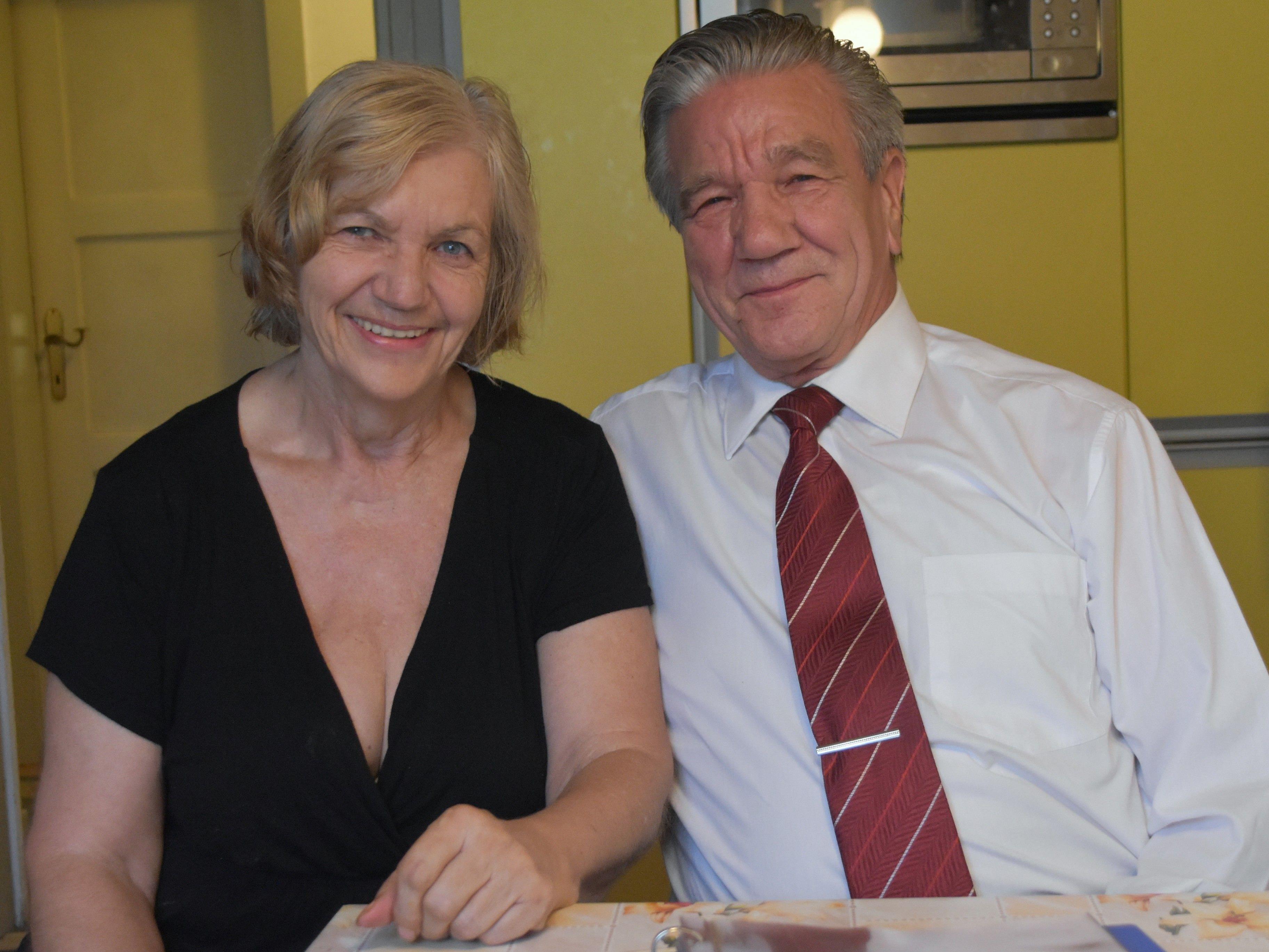 Luise Salchegger und  Sieghard Danler