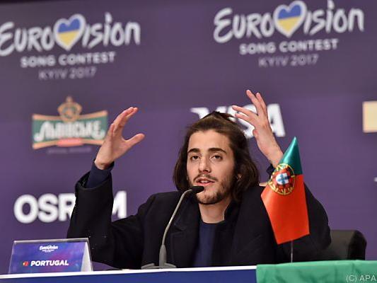 Salvador Sobral holte das Spektakel nach Portugal