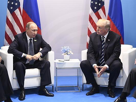 Kein Kuschelkurs zwischen Trump und Putin