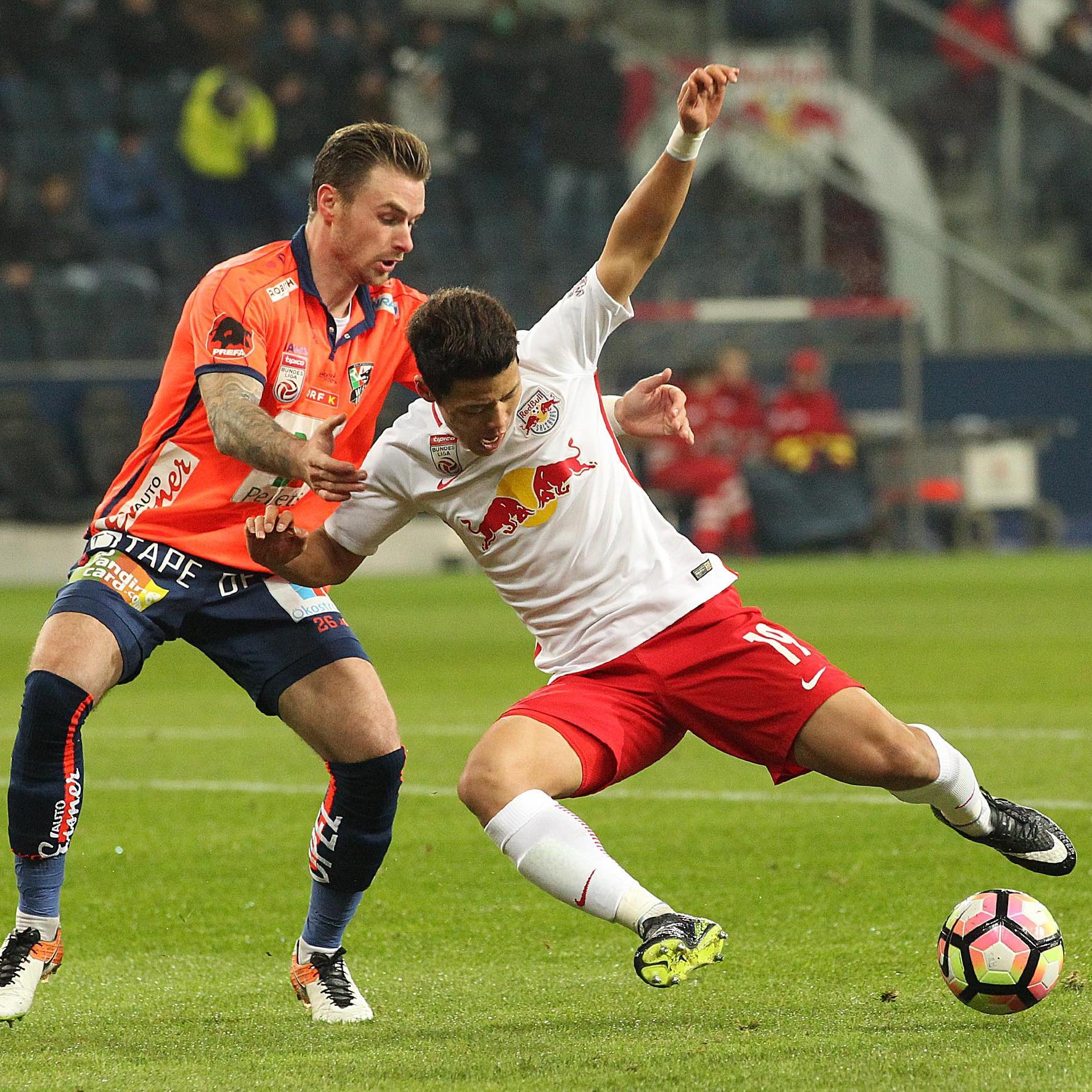 Der Live-Ticker zum Bundesliga-Spiel zwischen Wolfsberger AC und Red Bull Salzburg.