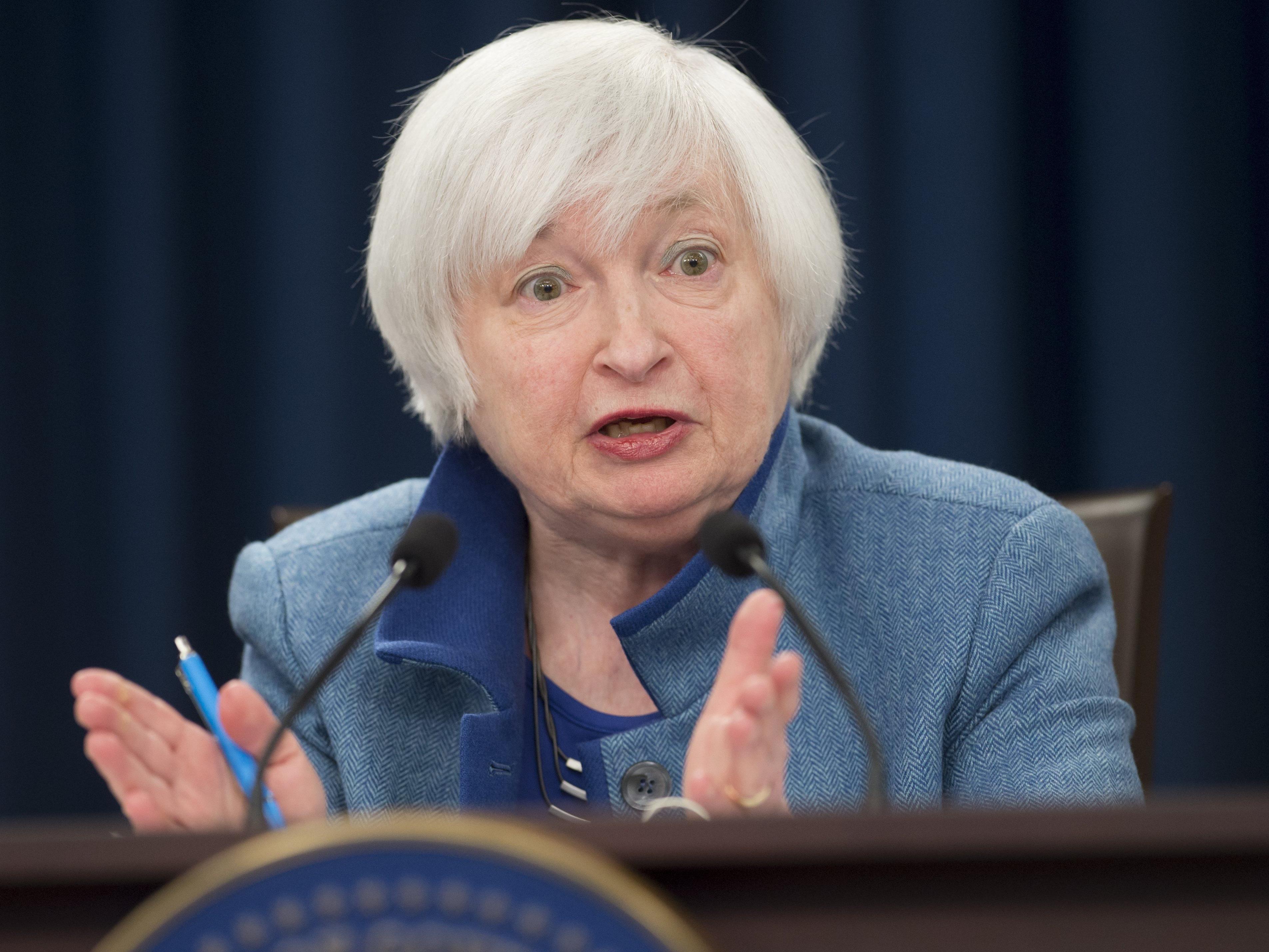 Amtszeit der US-Notenbankchefin endet im Februar.