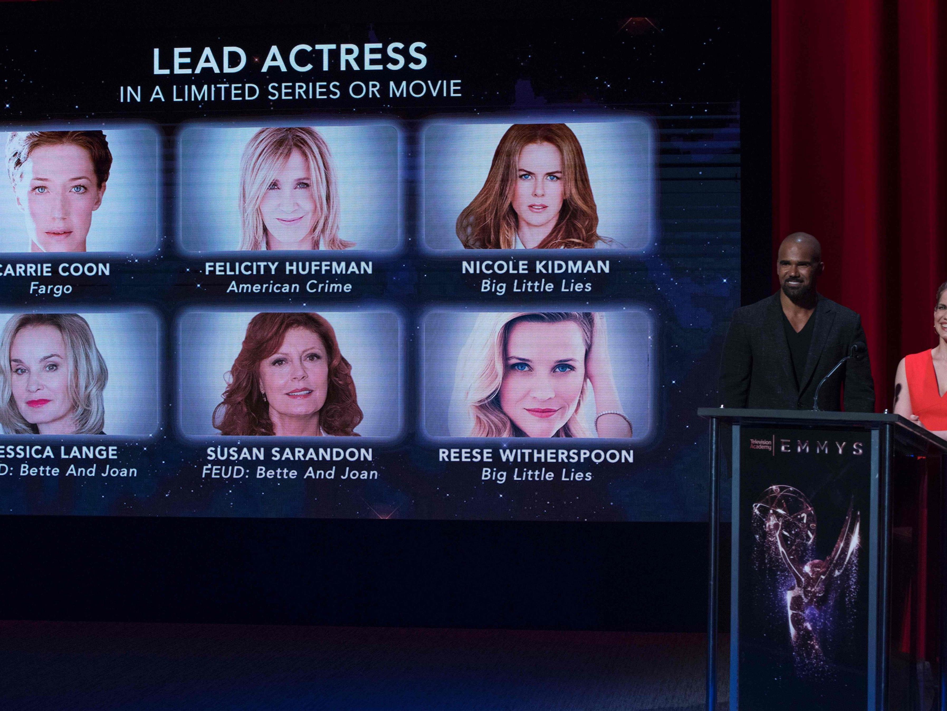 Am Donnerstag wurde die Emmy-Nominierten bekanntgegeben.