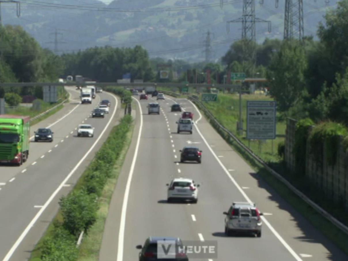 In Altach soll einen neue Lärmschutzwand an der Autobahn entstehen.