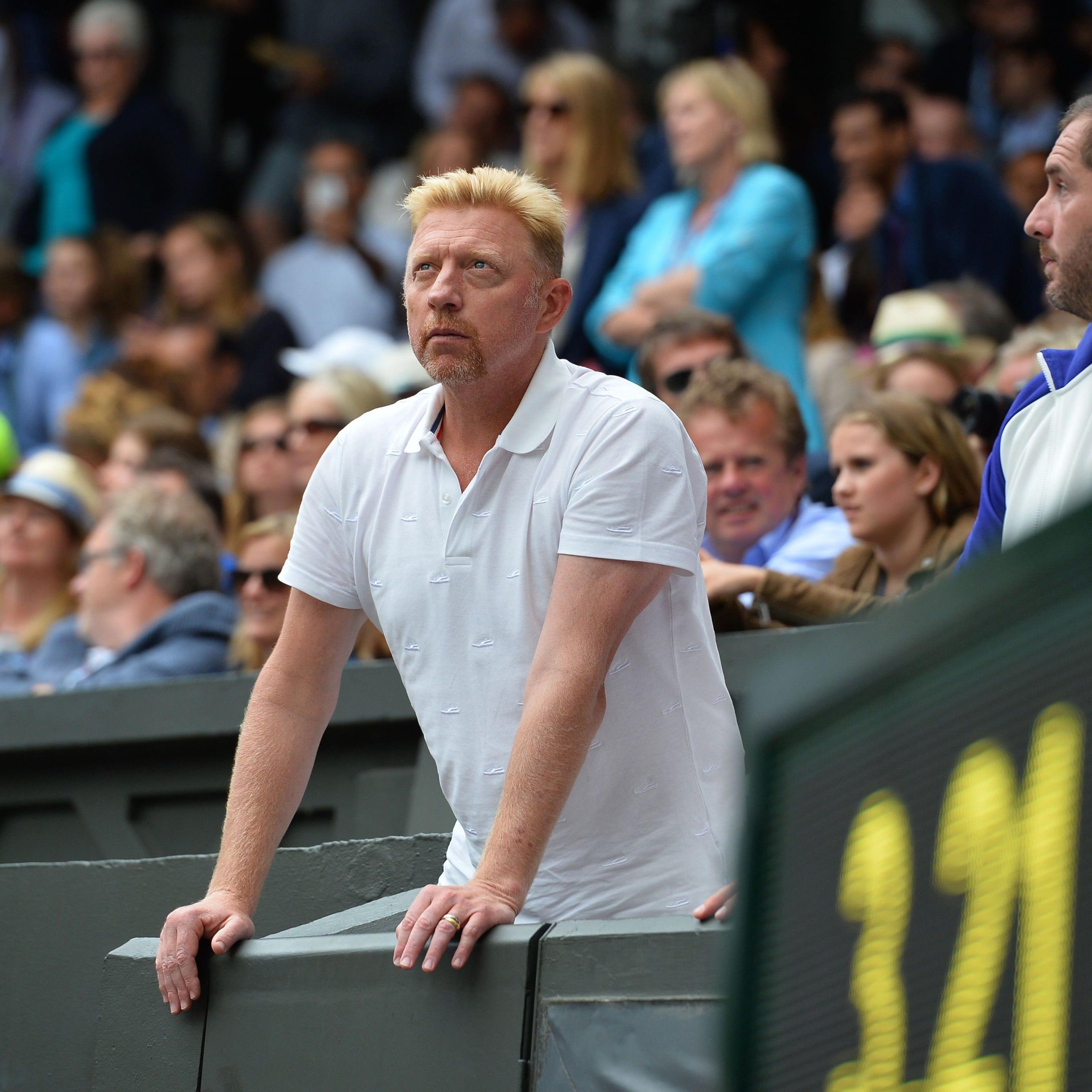 Boris Becker wurde von einem Londoner Gericht für Bankrott erklärt.