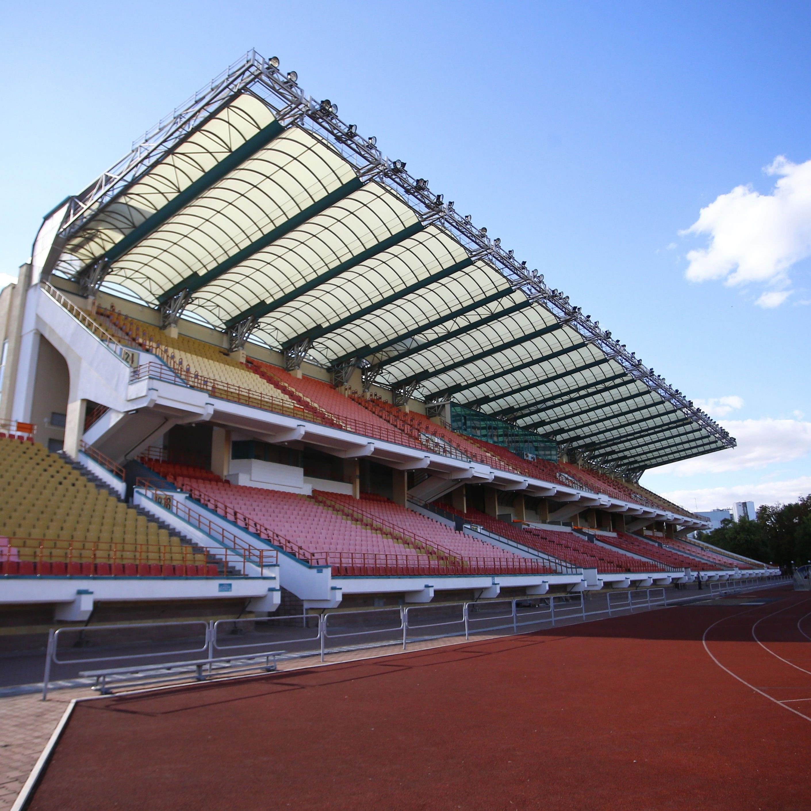 Das DASK Brestski, Heimstätte des FC Dynamo Brest.